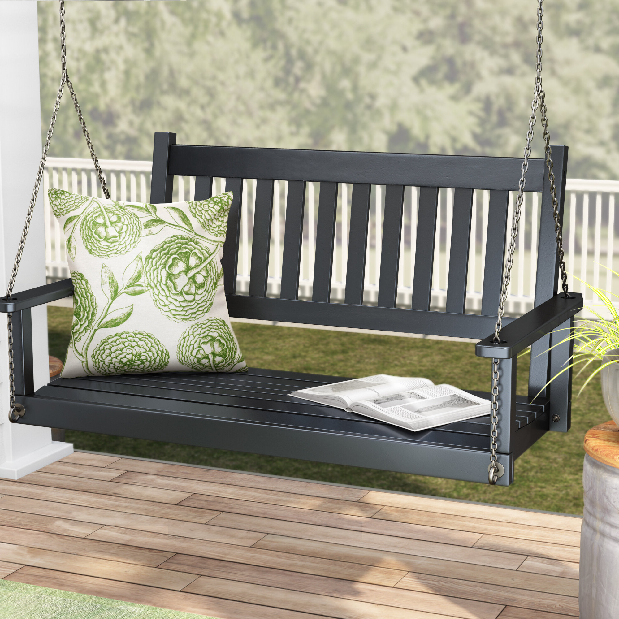 Current Franklin Springs Porch Swing Regarding Fordyce Porch Swings (View 19 of 25)