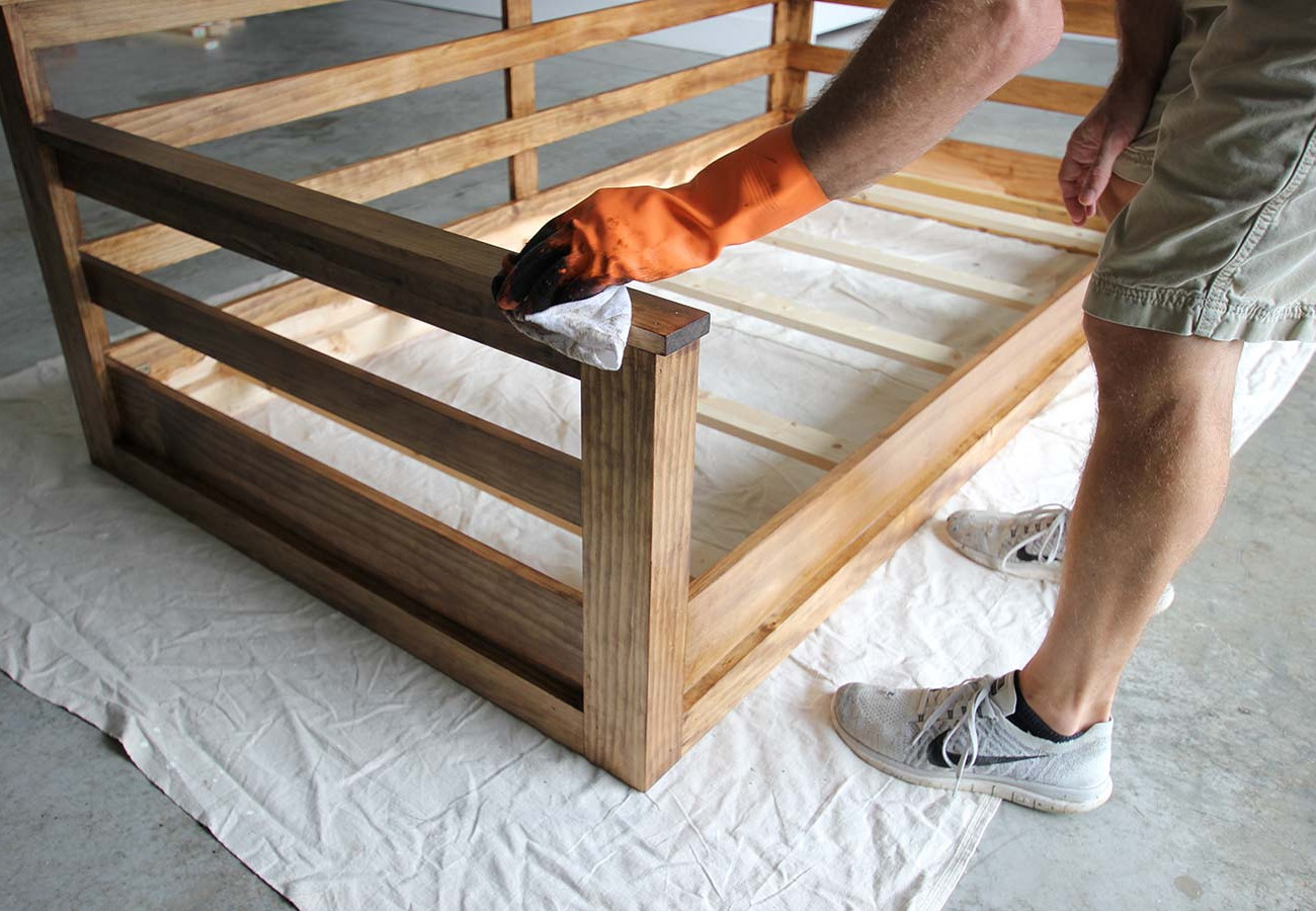 Day Bed Porch Swings With Well Liked How To Build A Porch Swing Bed – Plank And Pillow (View 25 of 25)