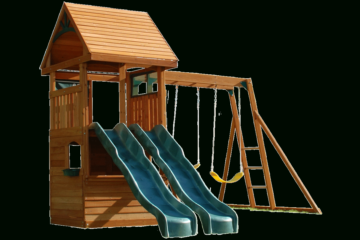 Duke Climbing Frame Within Latest A4 Ft Cedar Pergola Swings (View 21 of 25)