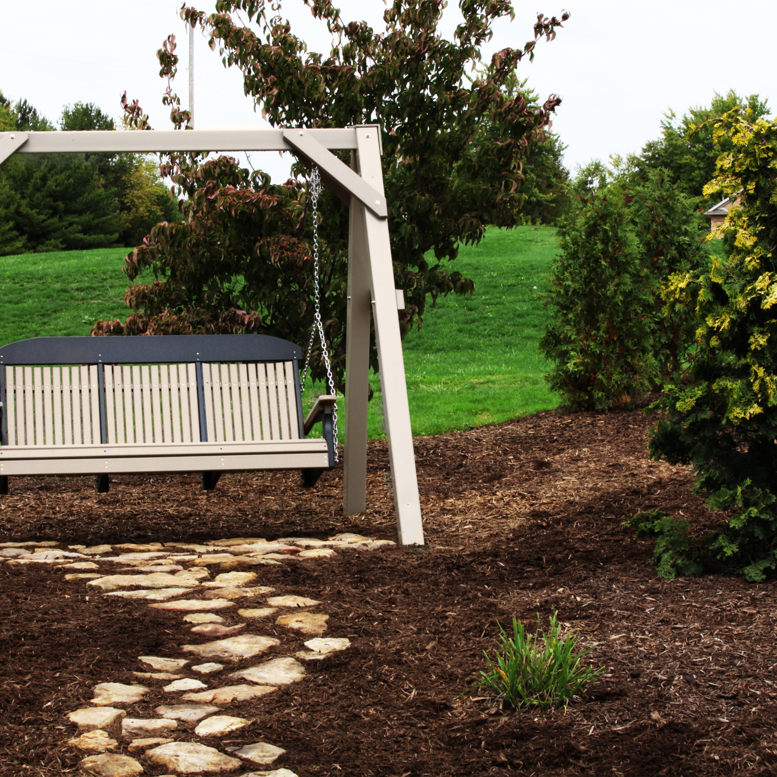 Famous Porch Swings With Regard To 5' Classic Porch Swing (View 25 of 26)