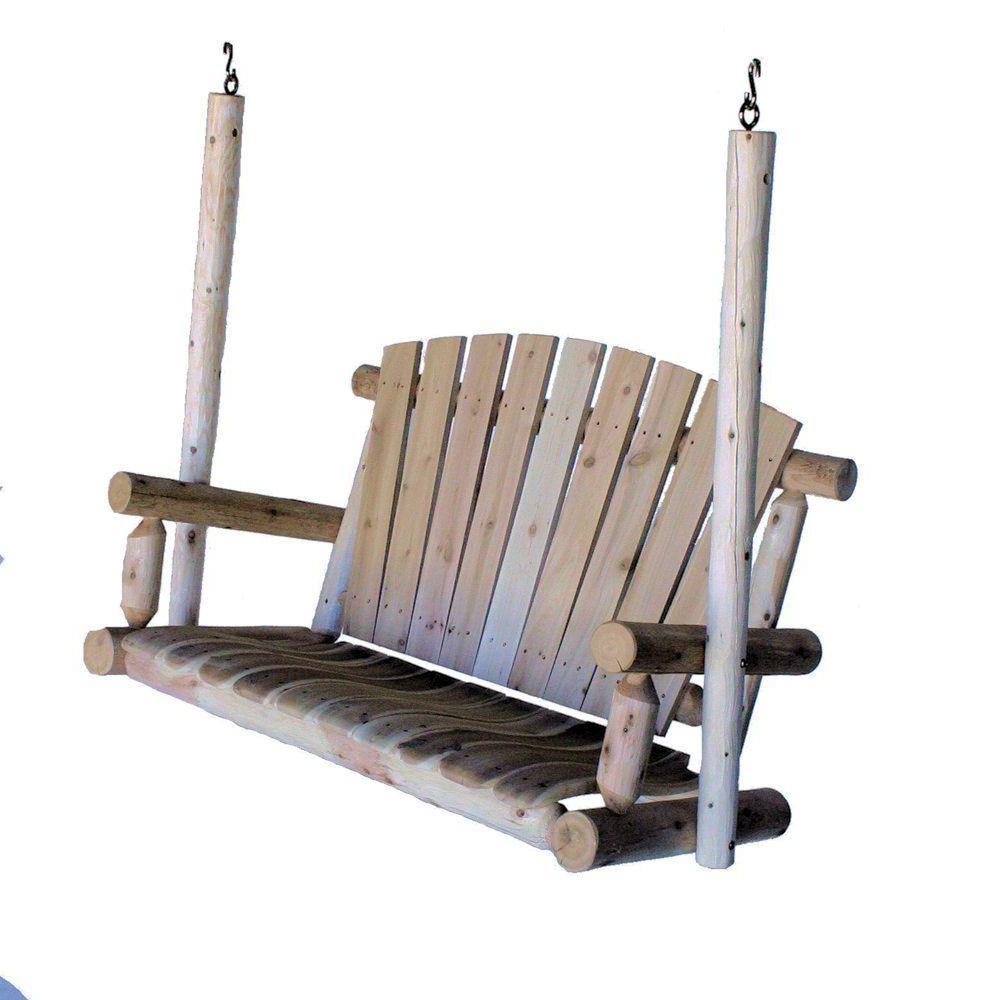 Fashionable 2 Person Natural Cedar Wood Outdoor Gliders Inside 4 Ft (View 24 of 25)