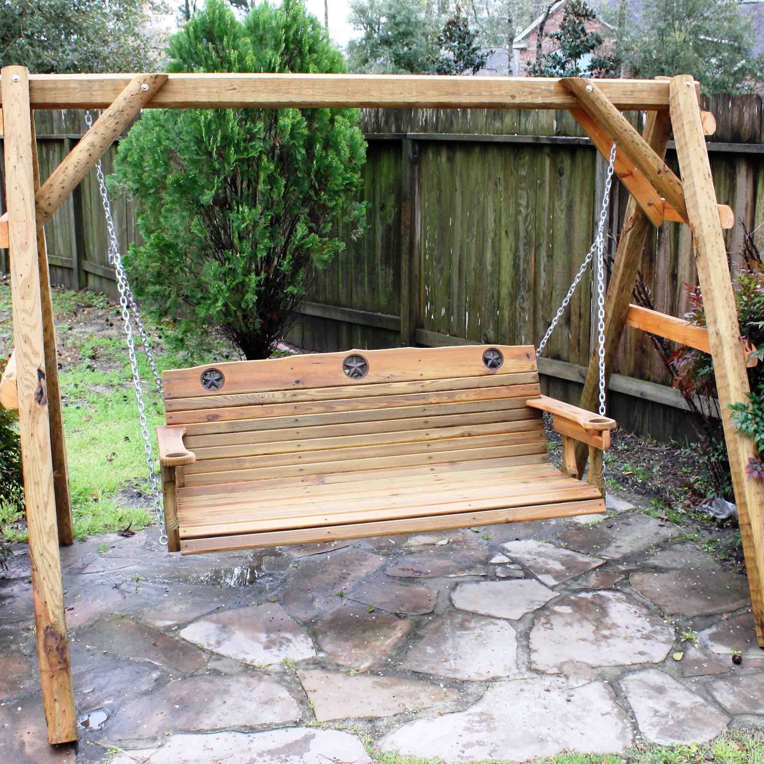Fashionable Fordyce Porch Swings In Patio Backyard Cedar Porch – Recognizealeader (View 24 of 25)