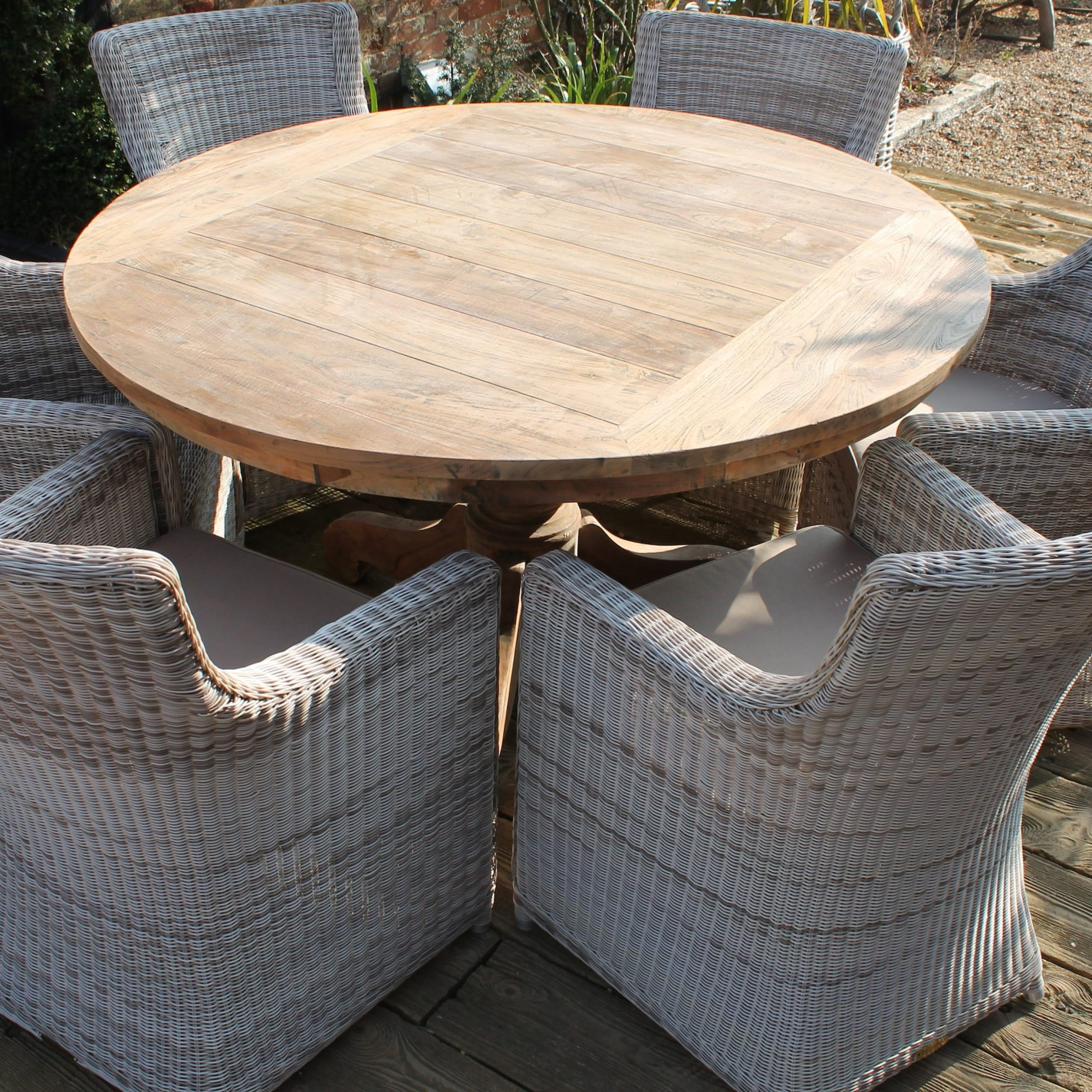 Favorite Best Rattan Garden Furniture – And Where To Buy It (View 6 of 25)