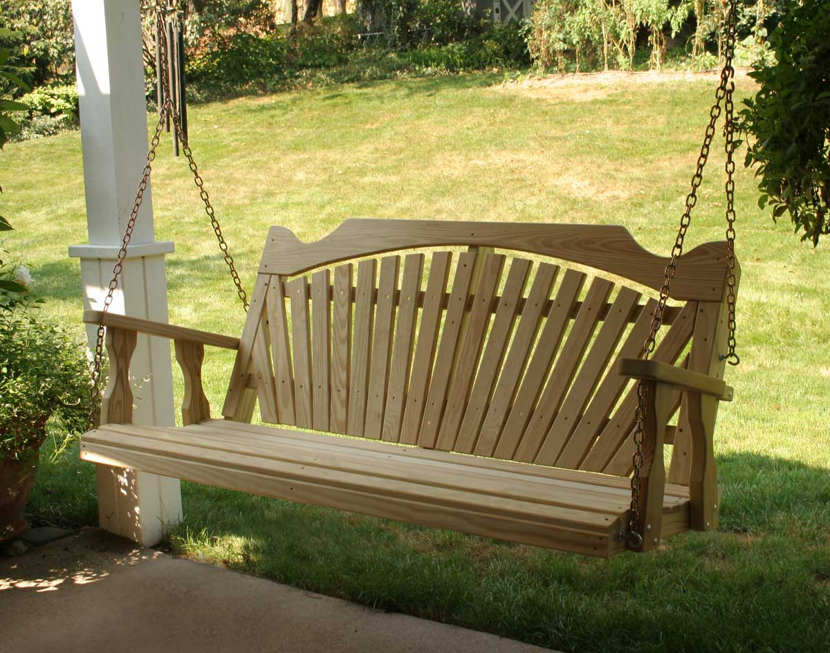 Furniture: Gorgeous Porch Swings For Terrace Ideas — Jones Throughout Favorite Hardwood Hanging Porch Swings With Stand (View 19 of 25)