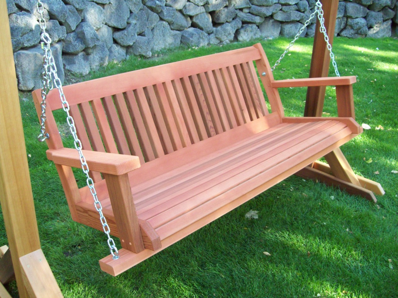Furniture: Gorgeous Porch Swings For Terrace Ideas — Jones Throughout Most Recently Released Hardwood Hanging Porch Swings With Stand (View 13 of 25)
