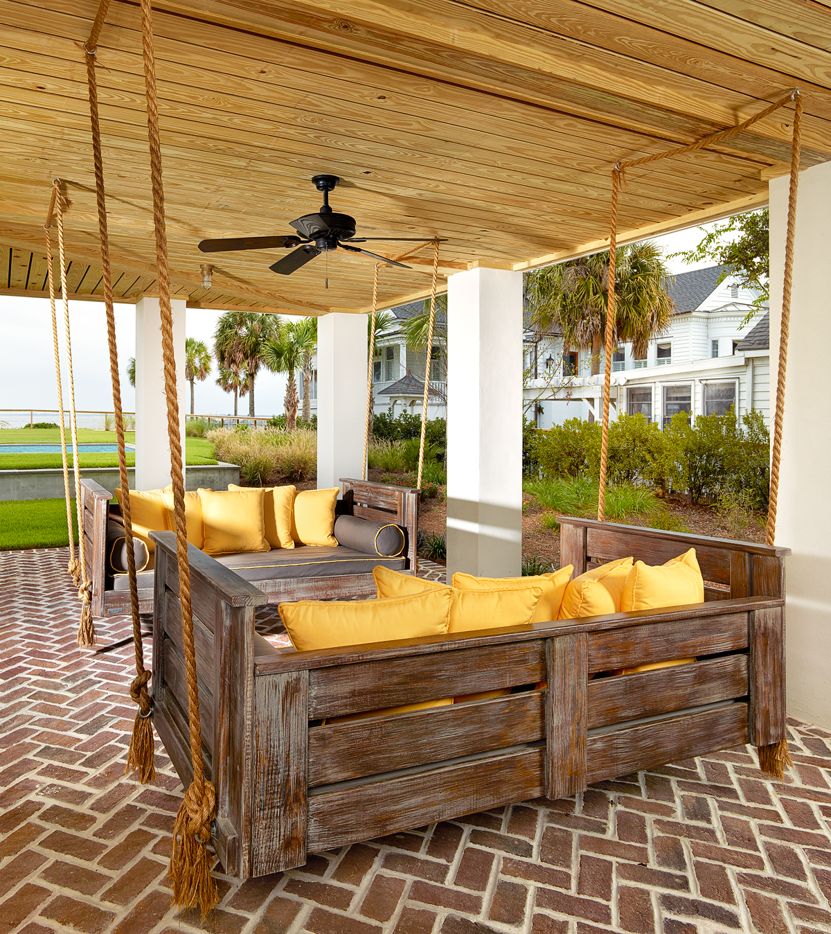 Great And Fun Ideas Porch Swing Bed Intended For Most Recently Released Patio Hanging Porch Swings (View 24 of 25)