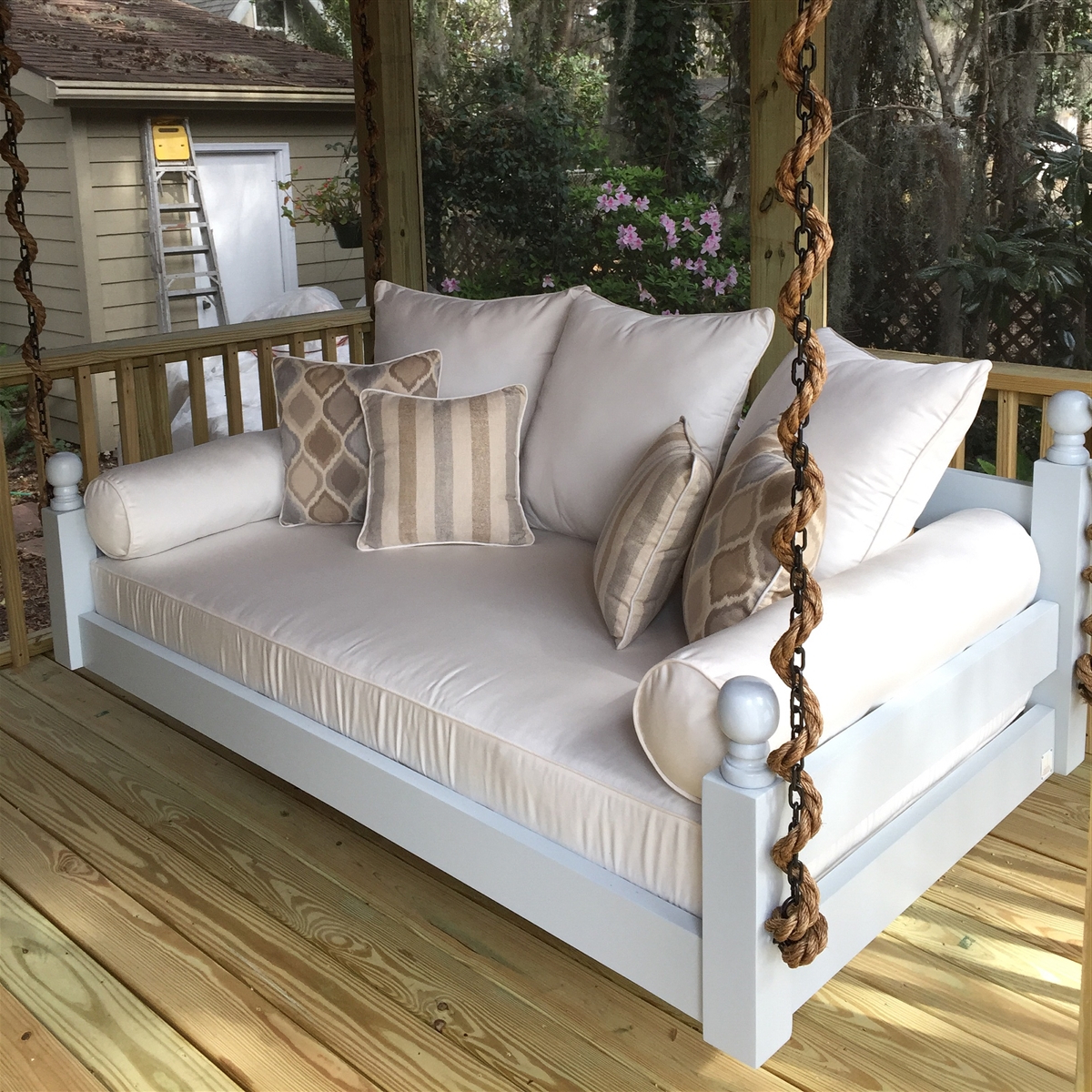 Great And Fun Ideas Porch Swing Bed Throughout Favorite Day Bed Porch Swings (View 14 of 25)