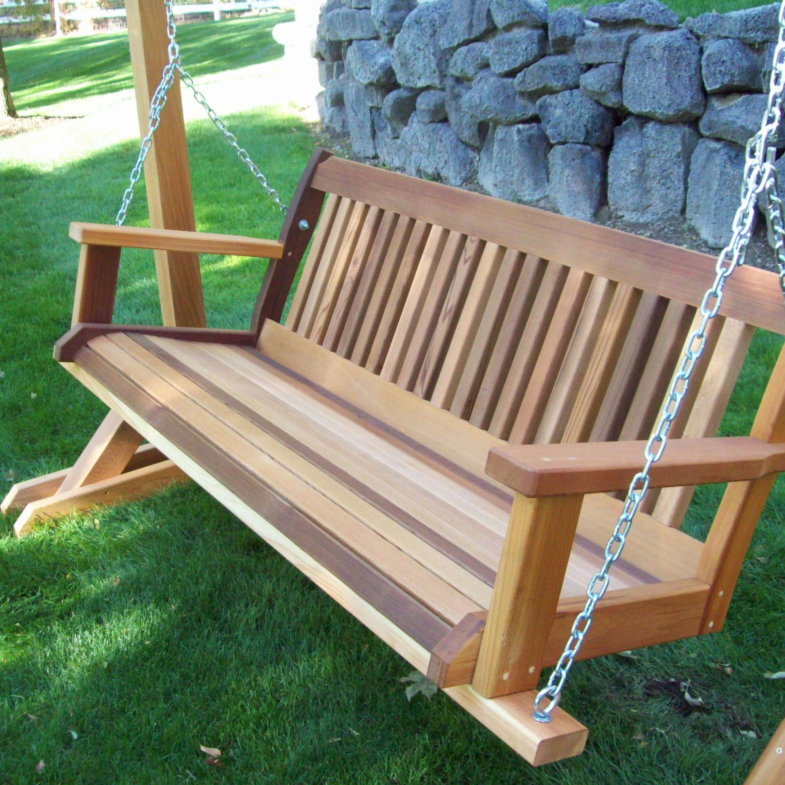 Hardwood Hanging Porch Swings With Stand For Popular Best Porch Swing Reviews & Guide (View 7 of 25)