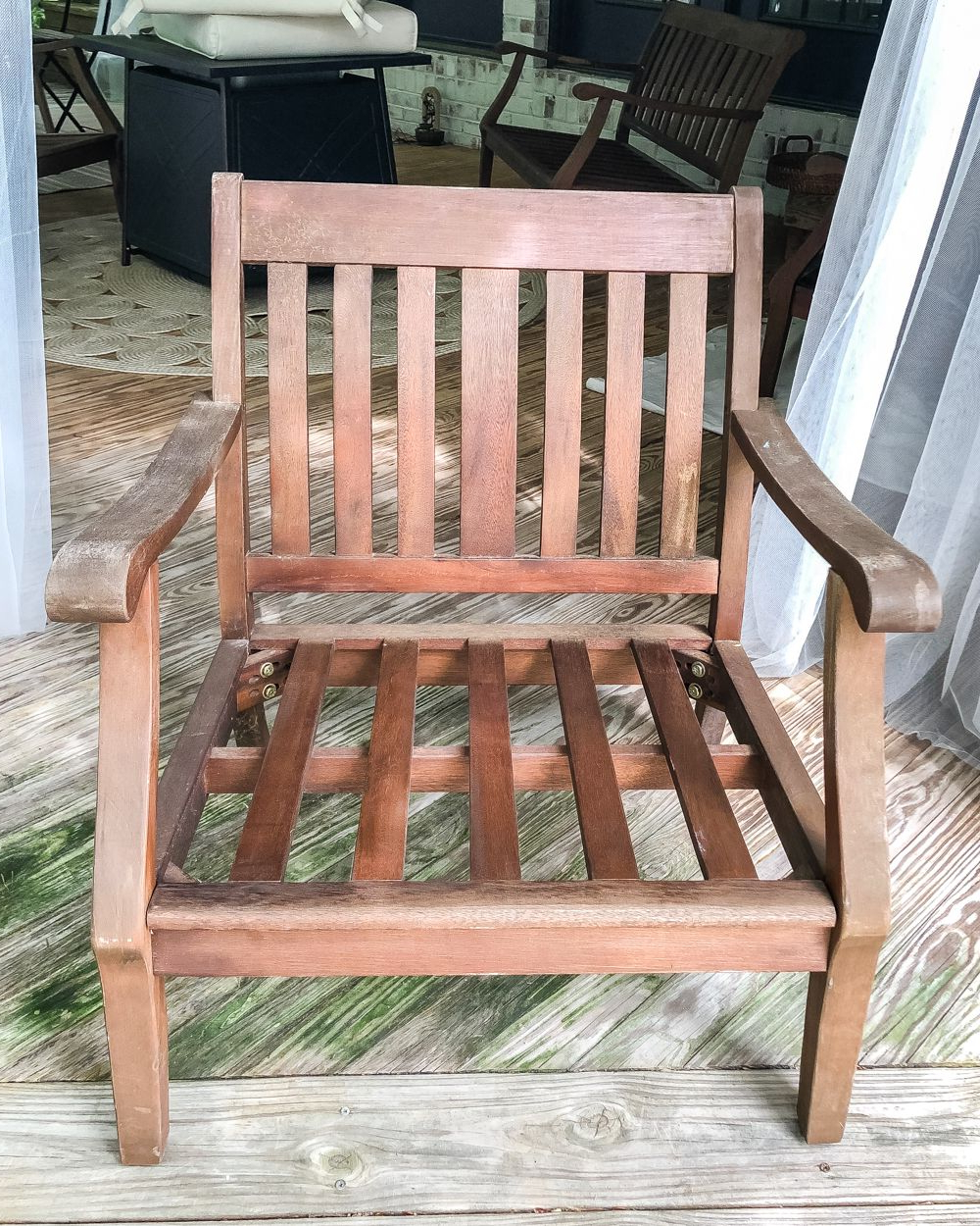 How To Restore Wood Outdoor Furniture (View 11 of 25)