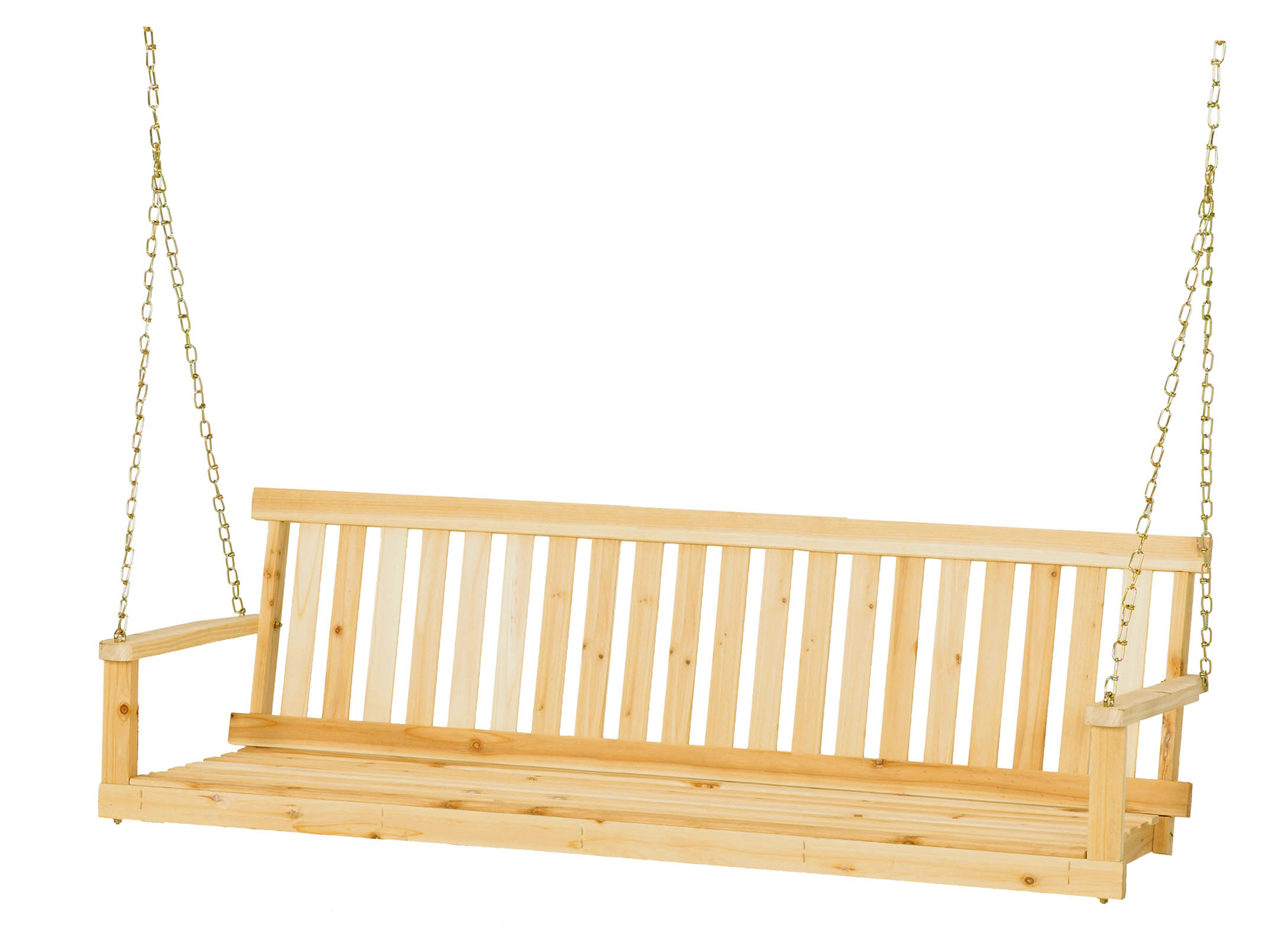 Jack Post Jennings 5' Swing With Chains – Walmart Throughout Well Liked Porch Swings With Chain (Gallery 15 of 26)