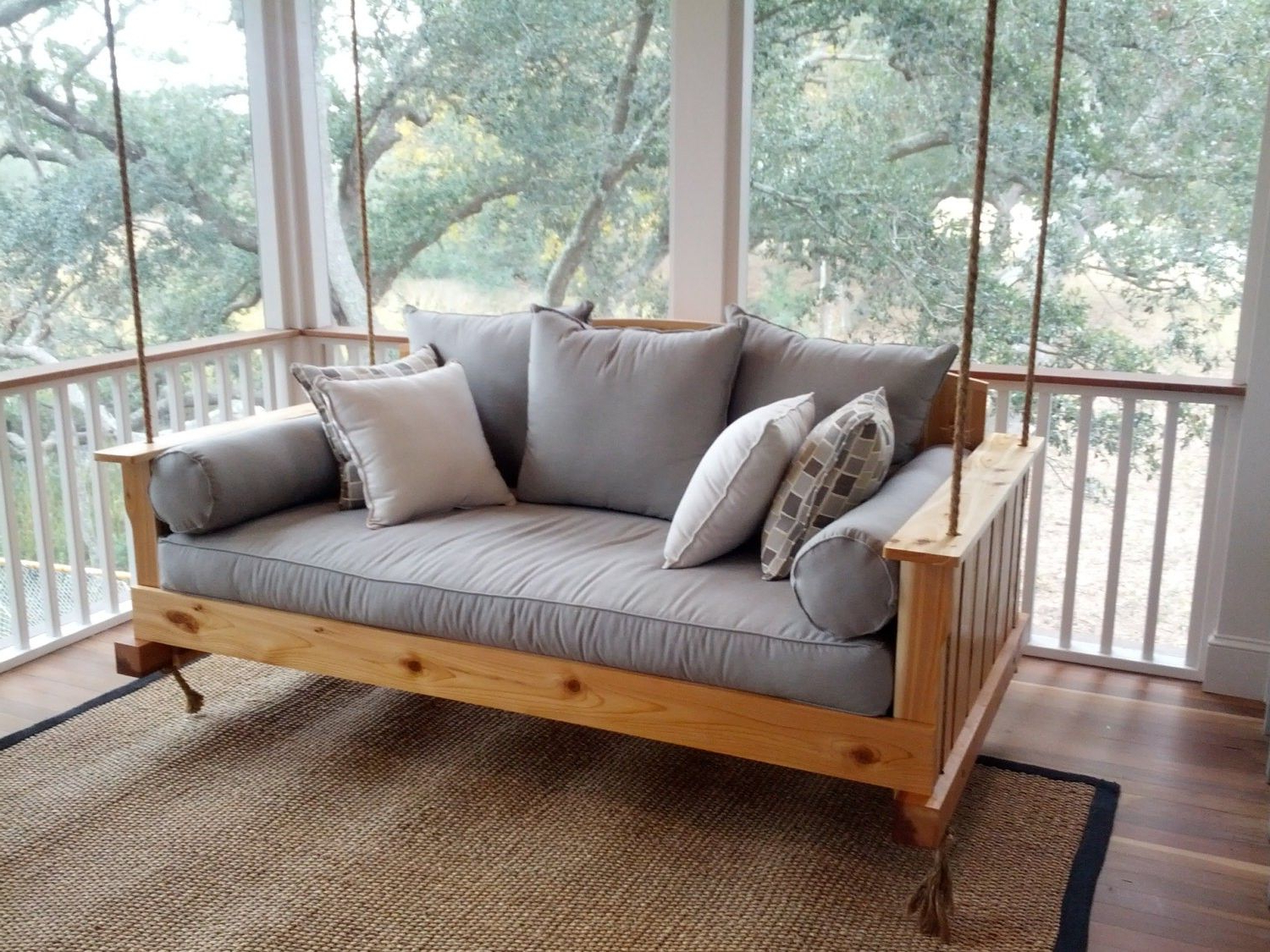Most Current Lowcountry Swing Beds The Daniel Island Daybed Swing Pertaining To Day Bed Porch Swings (View 2 of 25)