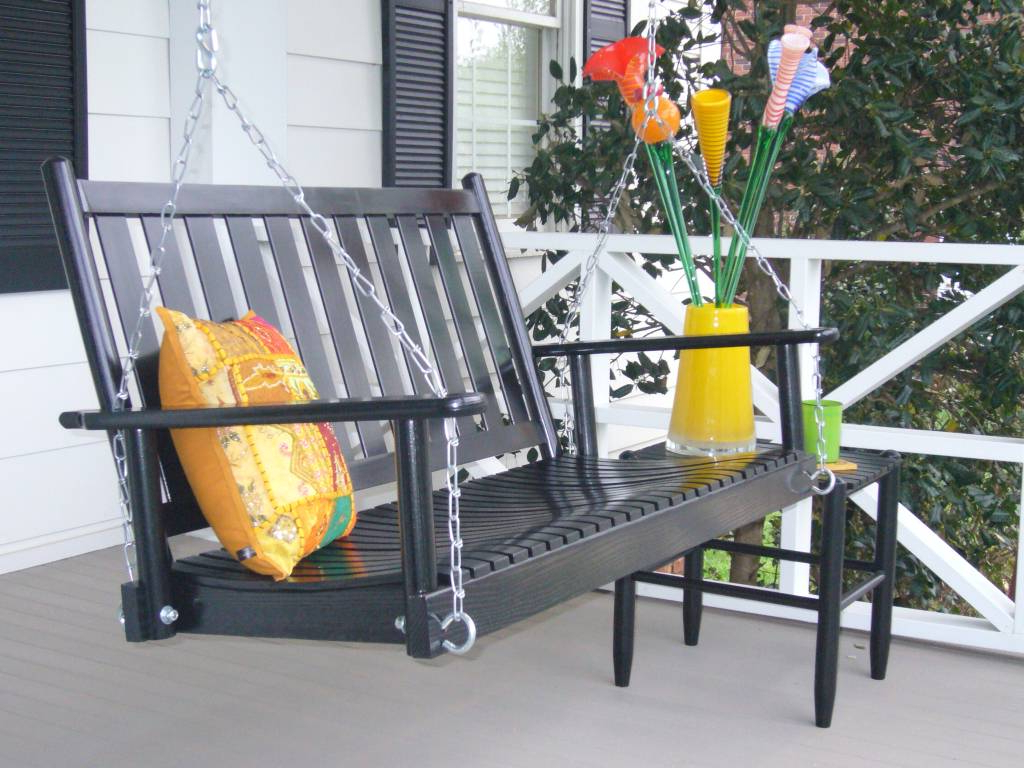 Most Current Outdoor Porch Swings With Wooden Outdoor Porch Swingdixie Seating Company (View 24 of 25)