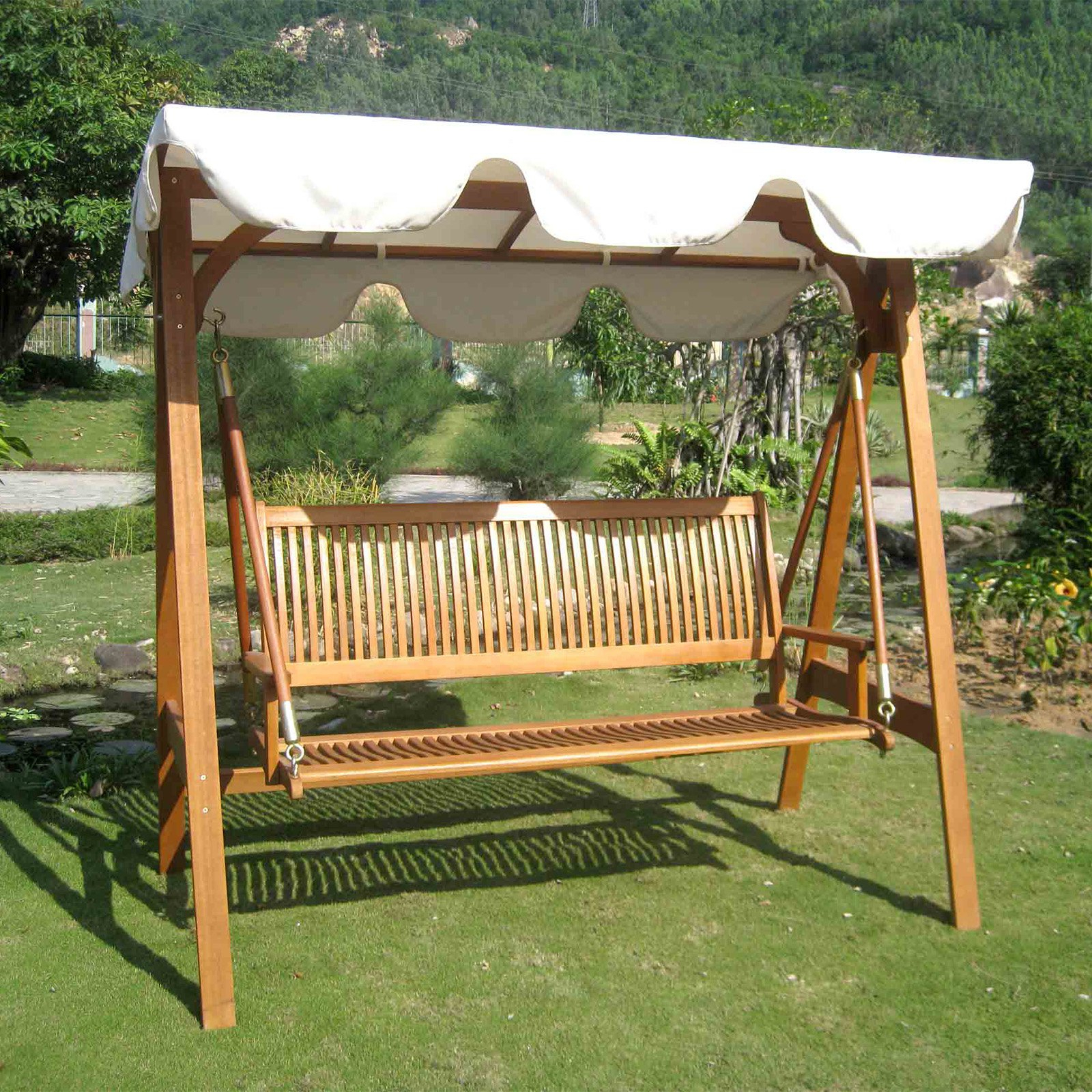 Most Popular Hammock Patio Backyard Stand – Recognizealeader With Patio Glider Hammock Porch Swings (View 19 of 25)