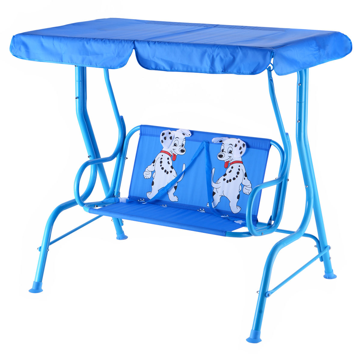 Most Popular Outdoor Kids Patio Swing Bench With Canopy 2 Seats In Porch Swings With Canopy (View 24 of 25)