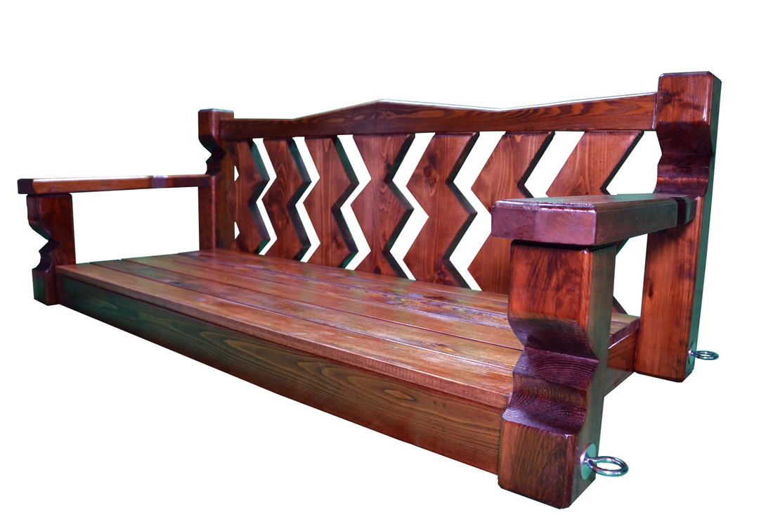 Most Recent 5 Ft Cedar Swings With Springs Within Atlanta Wooden Swings – Blog (View 19 of 25)
