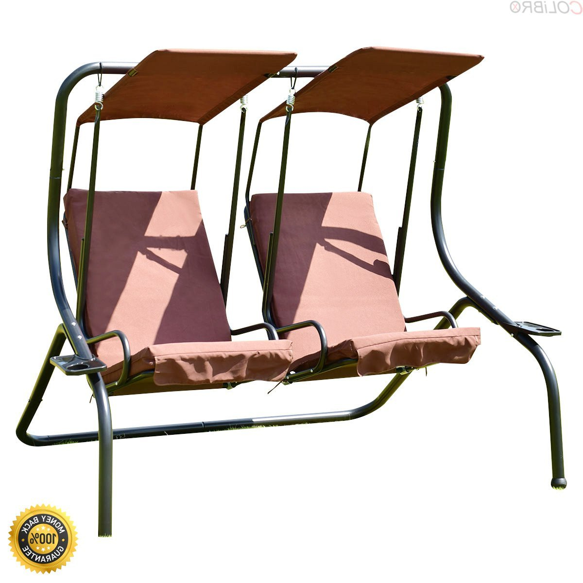 Most Recent Cheap Lowes Porch Swing, Find Lowes Porch Swing Deals On Inside 2 Person Hammock Porch Swing Patio Outdoor Hanging Loveseat Canopy Glider Swings (Gallery 18 of 25)