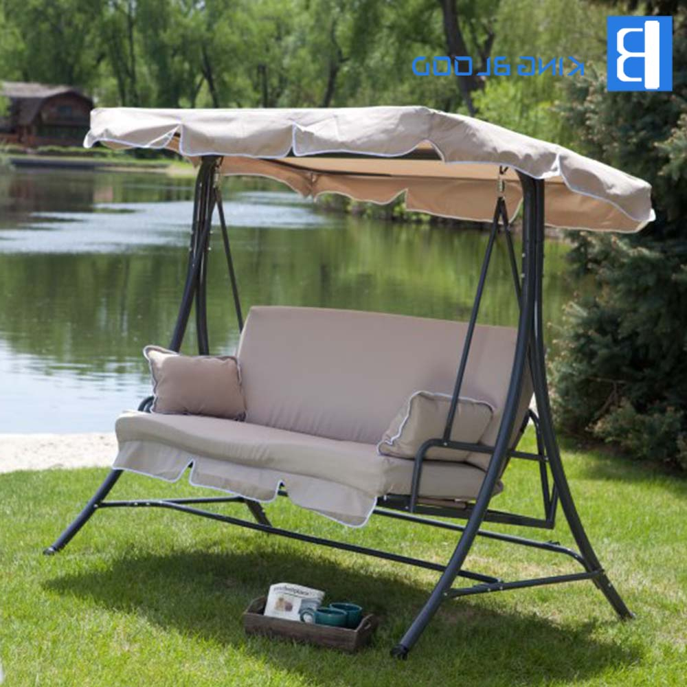 Most Recent China Iron Garden Swing Furniture, China Iron Garden Swing Throughout Garden Leisure Outdoor Hammock Patio Canopy Rocking Chairs (View 22 of 25)