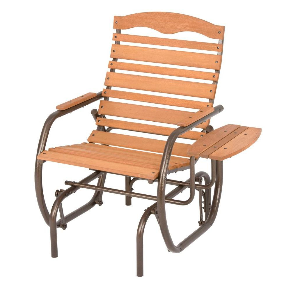Most Recently Released Outside Glider Chairs – Facingwalls With Outdoor Patio Swing Glider Bench Chair S (View 9 of 25)