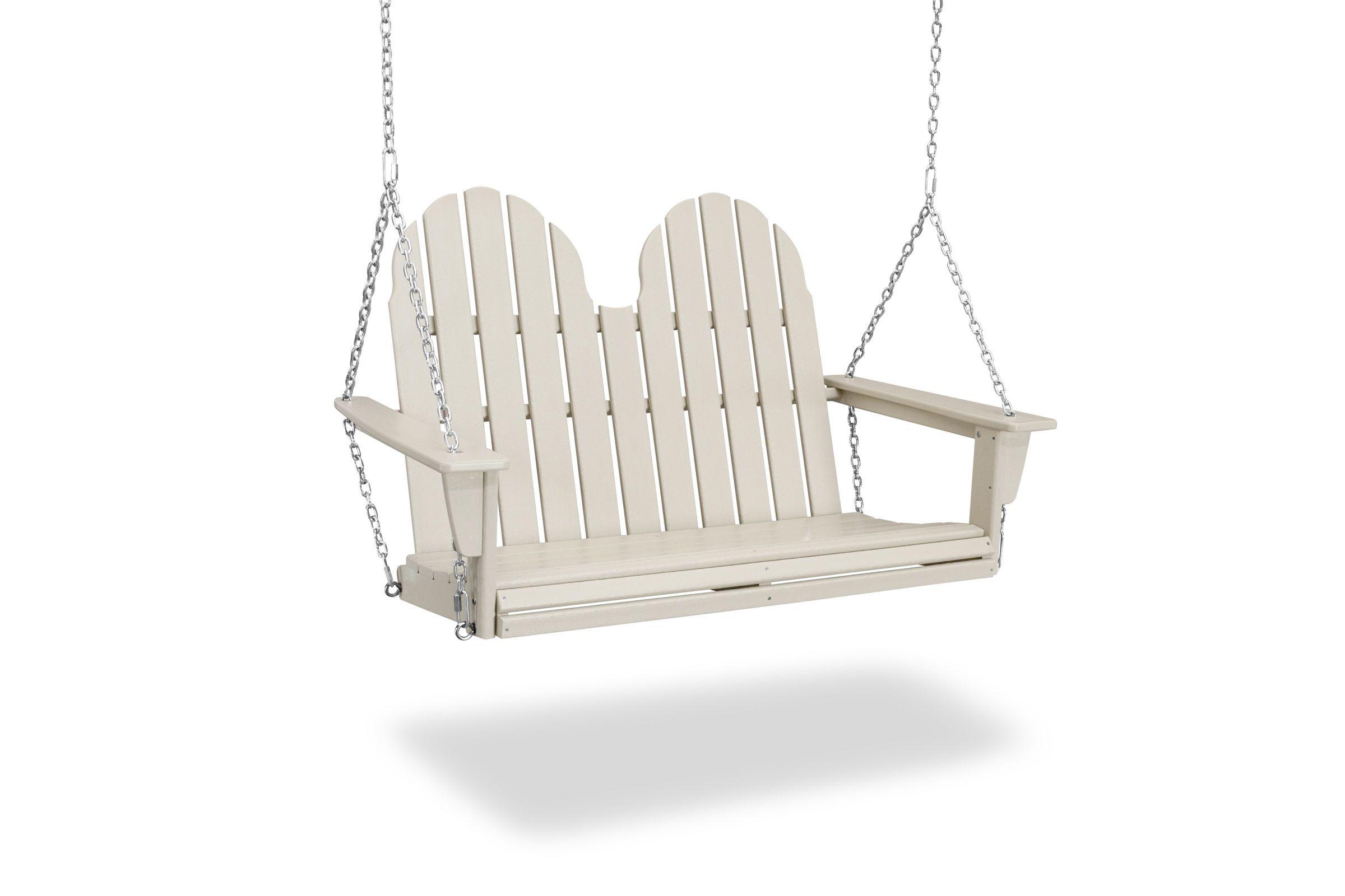 "Most Recently Released Vineyard Adirondack 48"" Swing Adsw600 Regarding Vineyard Porch Swings (View 17 of 25)"