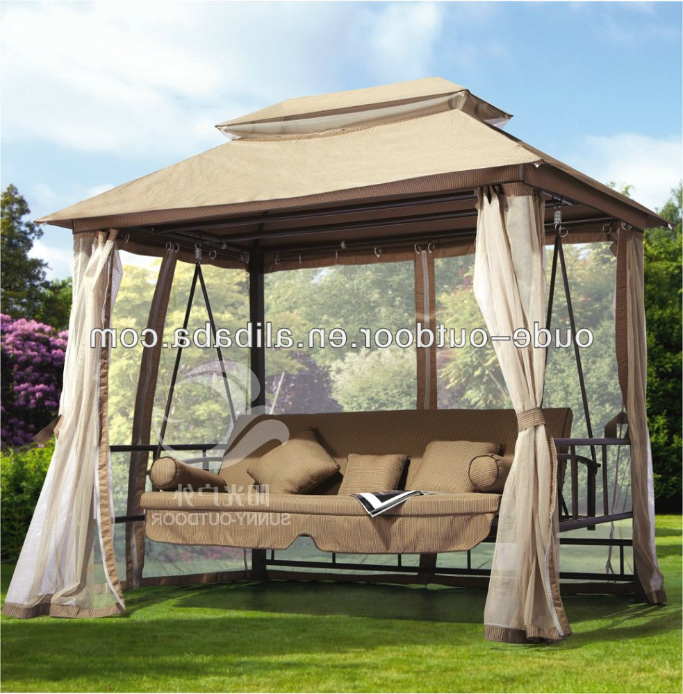 Most Up To Date 3 Seat Pergola Swings With Regard To 3 Seat Swing – Buy Swing,patio Bed Swing,luxury Patio Swing Product On Alibaba (Gallery 6 of 25)