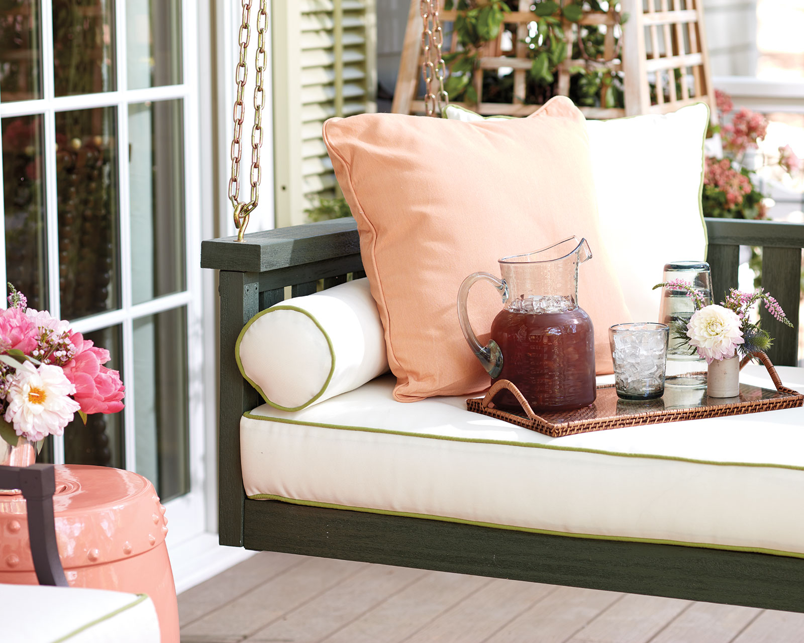 Most Up To Date Perfect Porch Swings And Why They're A Southern Icon (Gallery 21 of 25)
