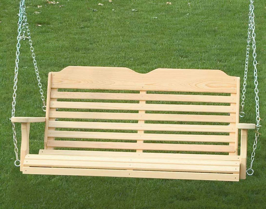 Newest 12 Free Porch Swing Plans (View 13 of 25)