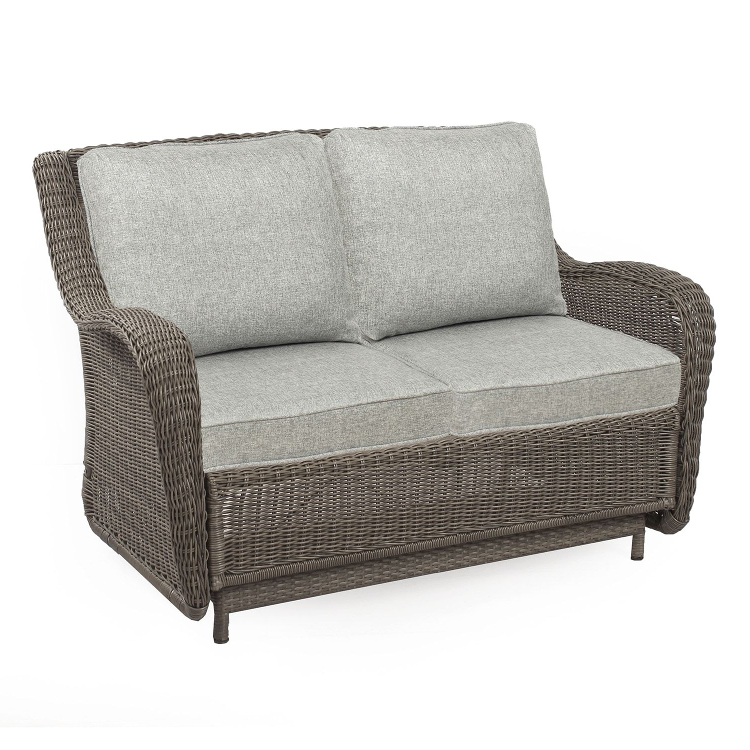 Outdoor Loveseat Gliders With Cushion In Preferred Sonoma Goods For Life? Presidio Patio Glider Loveseat (View 5 of 25)