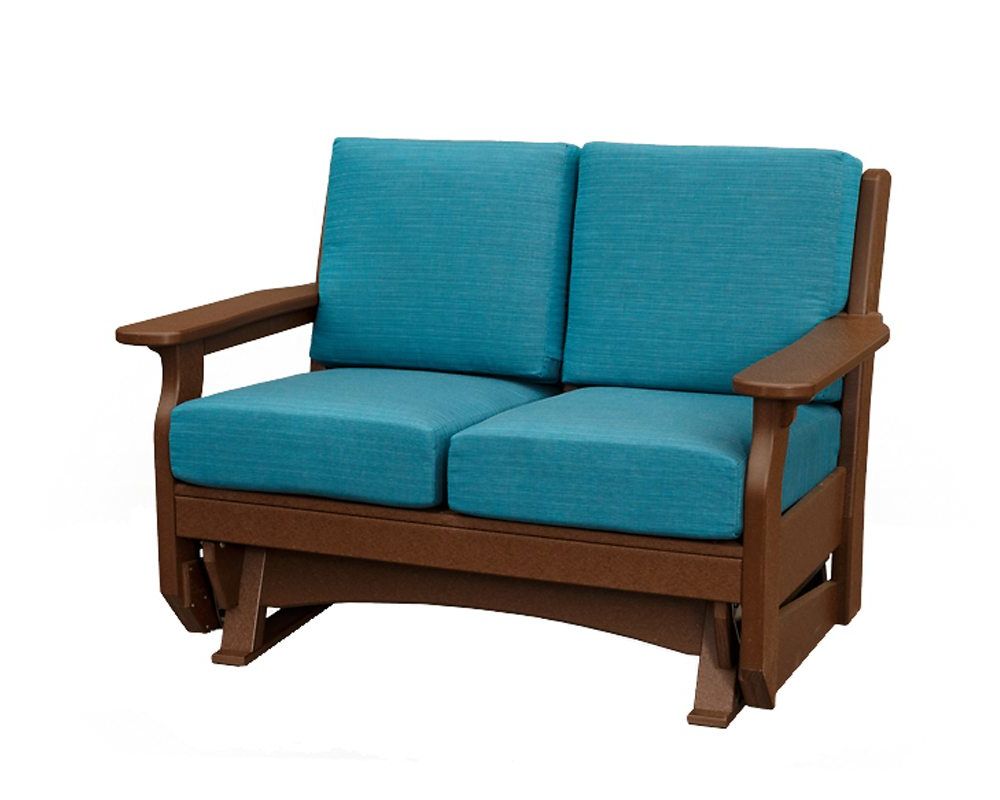 Outdoor Loveseat Gliders With Cushion Within Best And Newest Van Buren Loveseat Glider (View 9 of 25)