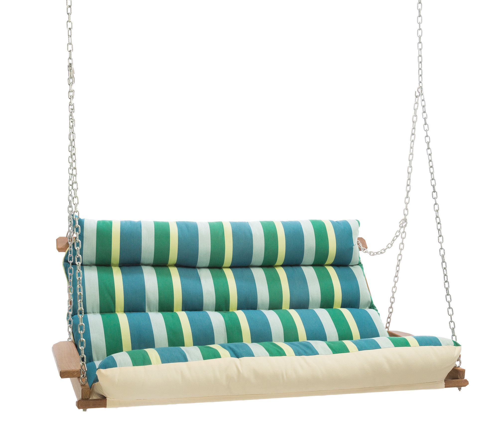 Pacheco Deluxe Sunbrella Porch Swing Pertaining To Most Recently Released Cotton Porch Swings (Gallery 22 of 25)