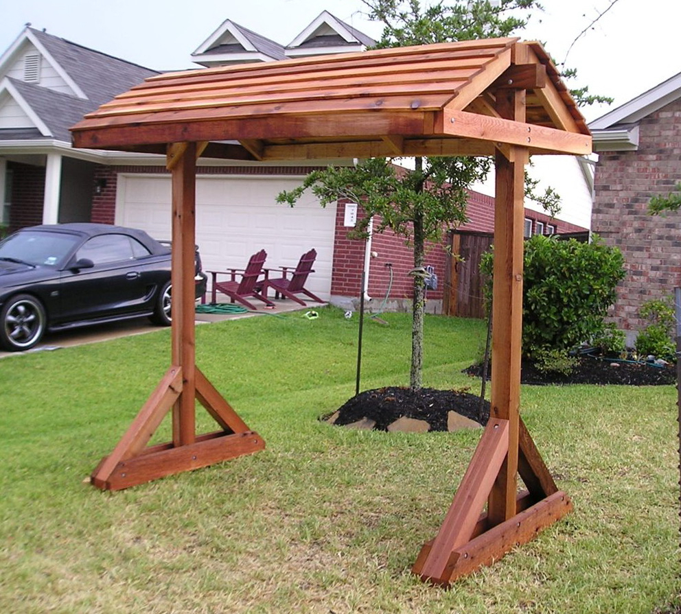 Pergola Porch Swings With Stand Throughout 2019 Standing Porch Swing Plans And Landscape Outdoor Stands (Gallery 8 of 25)