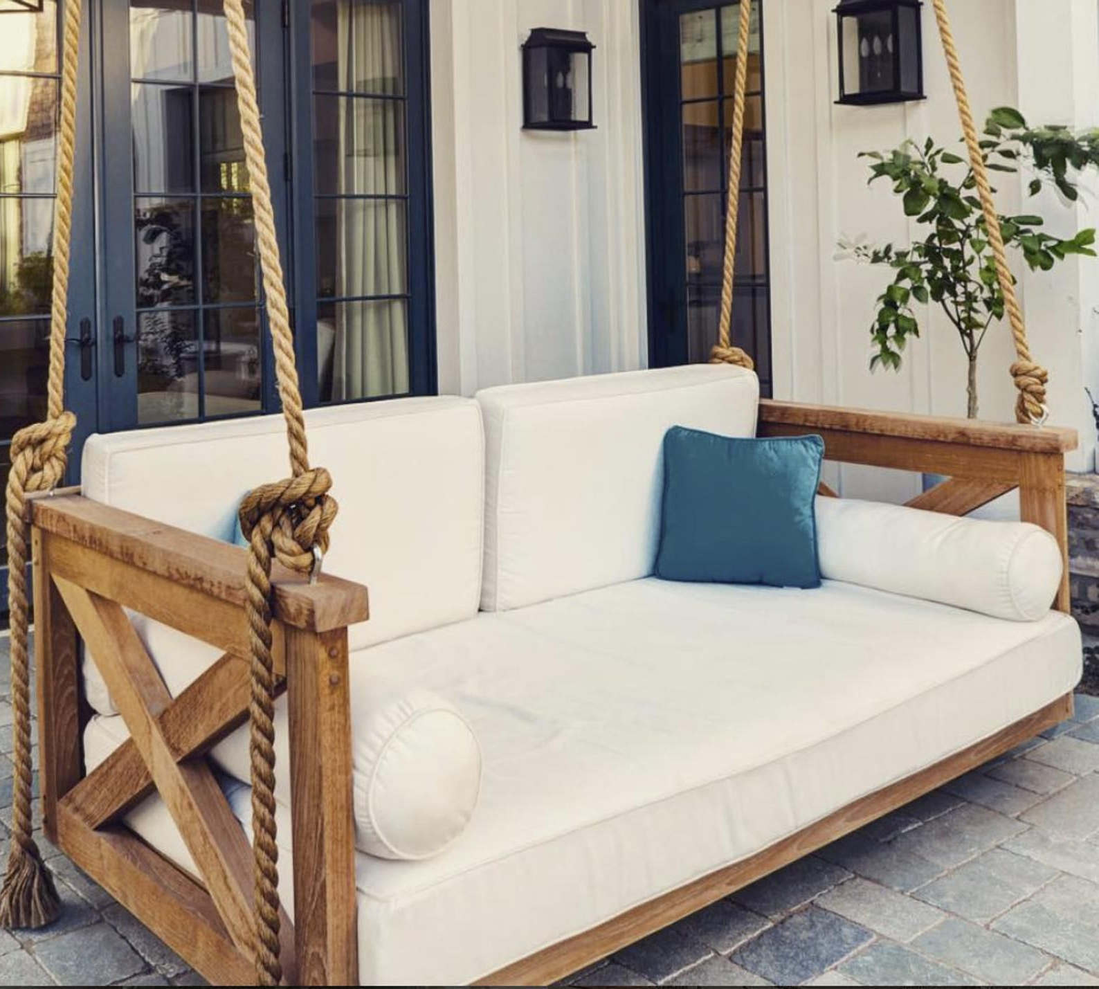 Porch Swing Cover White Mattress Cover Outdoor Bed Twin With Regard To Best And Newest Day Bed Porch Swings (Gallery 4 of 25)