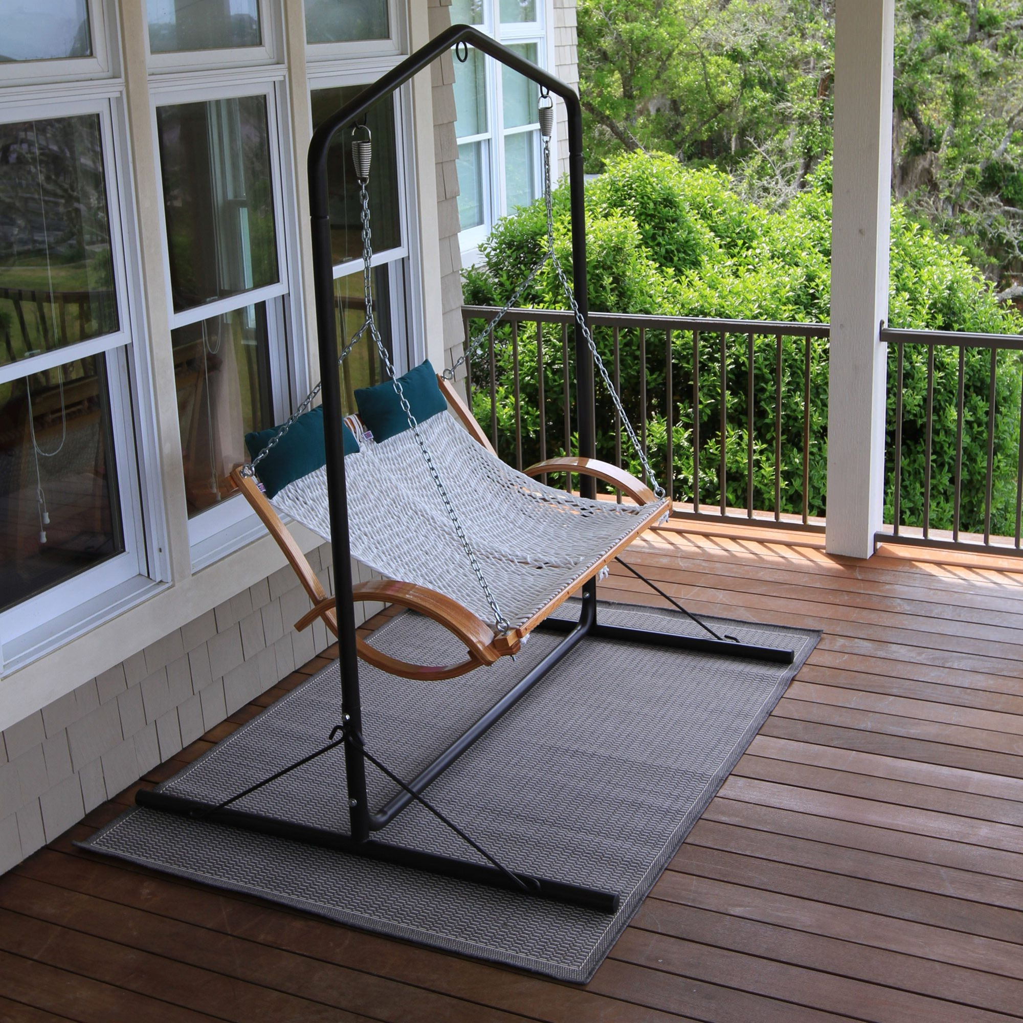 Porch Swings With Stand With Regard To Popular Metal Porch Swings With Stands (Gallery 9 of 25)