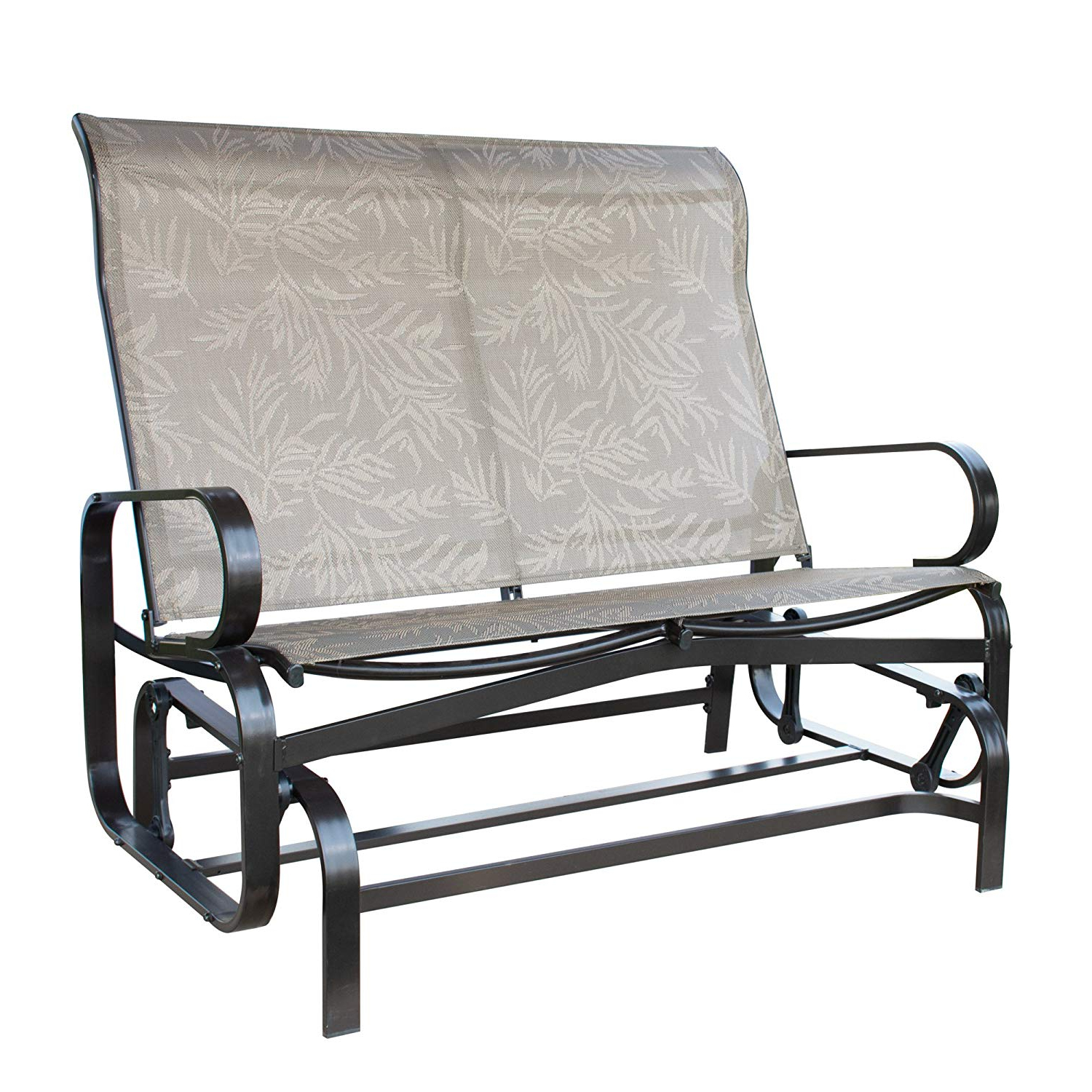 Preferred 2 Person Loveseat Chair Patio Porch Swings With Rocker Pertaining To Patiopost Glider Bench Outdoor 2 Person Loveseat Chair Patio Porch Swing With Rocker – Walmart (View 6 of 25)