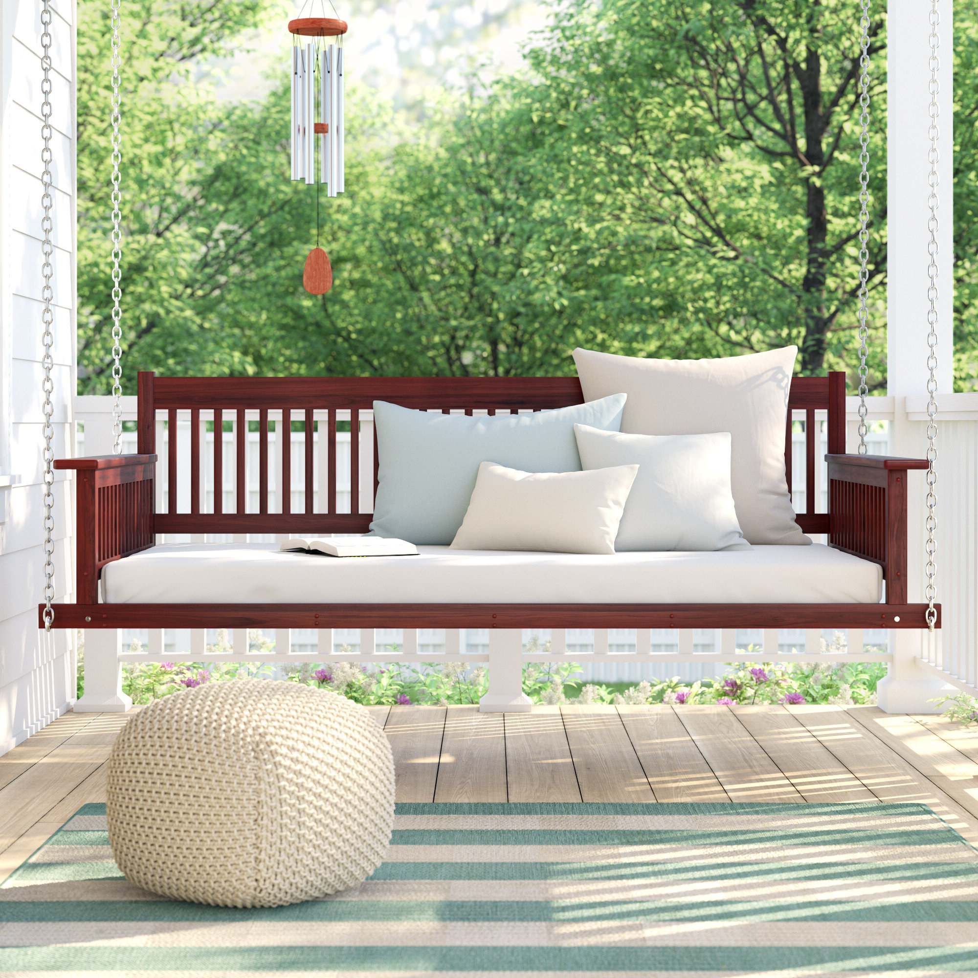 Quandro Day Bed Porch Swing Throughout Most Popular Day Bed Porch Swings (Gallery 20 of 25)