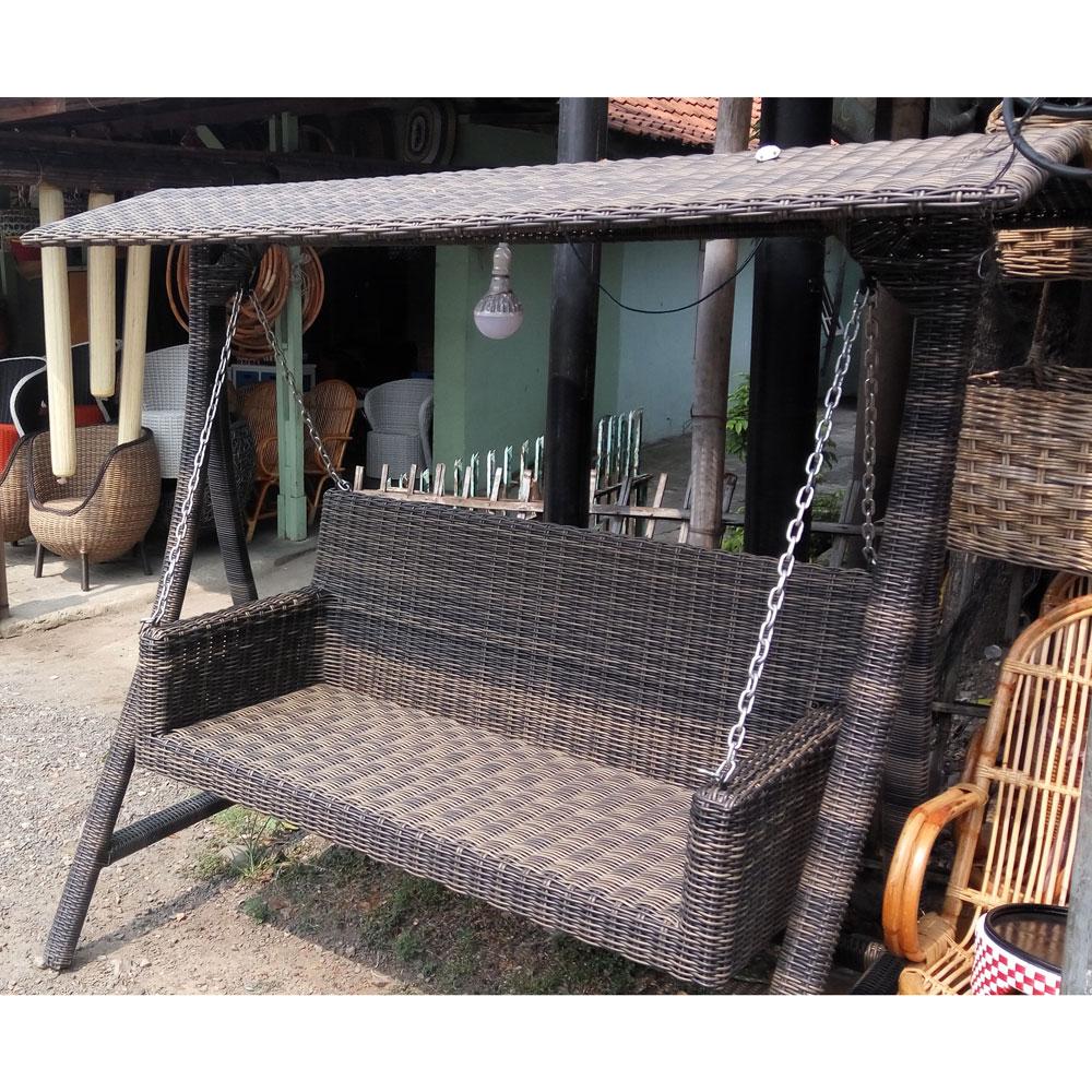 Rattan Garden Swing Chairs In 2020 Outdoor Garden Swing Furniture Indonesia – Buy Chair,rattan Furniture,rattan Garden Furniture Product On Alibaba (View 16 of 25)