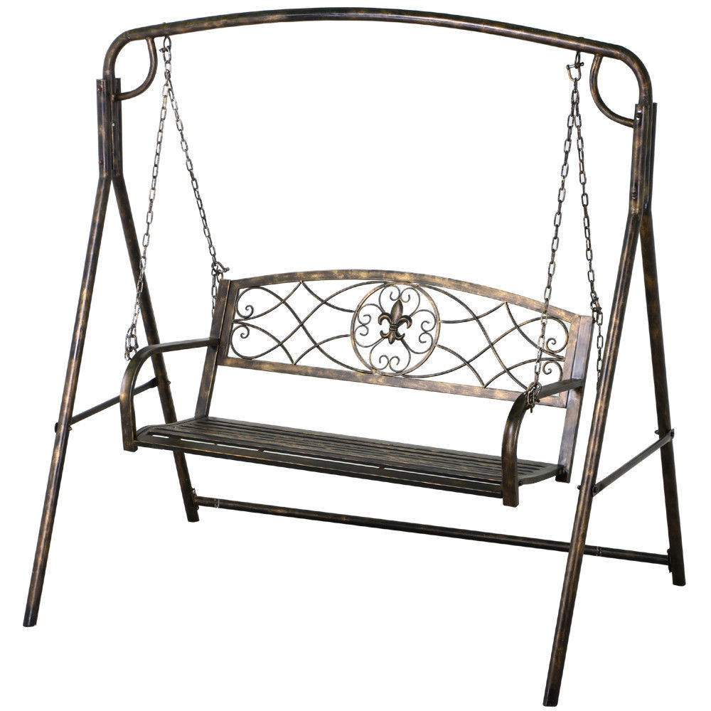Review: The 7 Best Patio And Porch Swing Stands – Wooden And Inside Popular Porch Swings With Stand (Gallery 16 of 25)