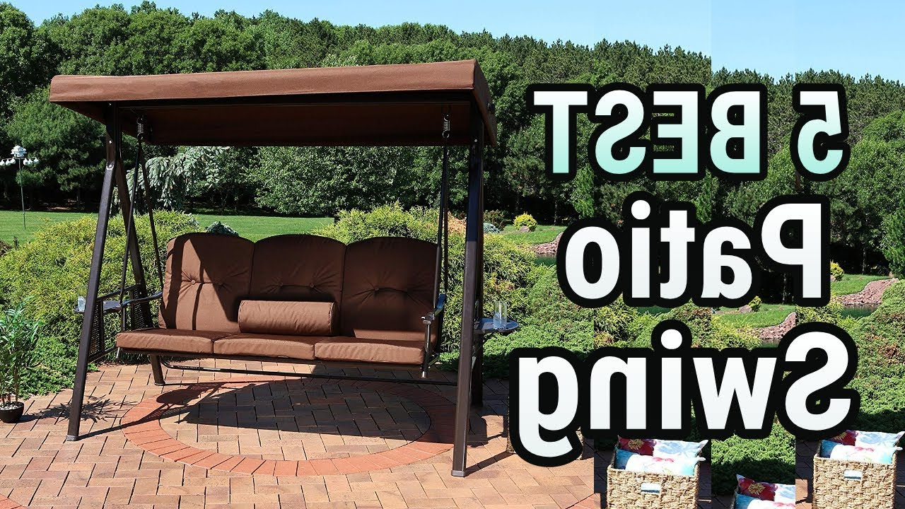 Top 10 Best Patio Swings In 2020 Review – A Best Pro With Well Known 2 Person Outdoor Convertible Canopy Swing Gliders With Removable Cushions Beige (View 22 of 25)
