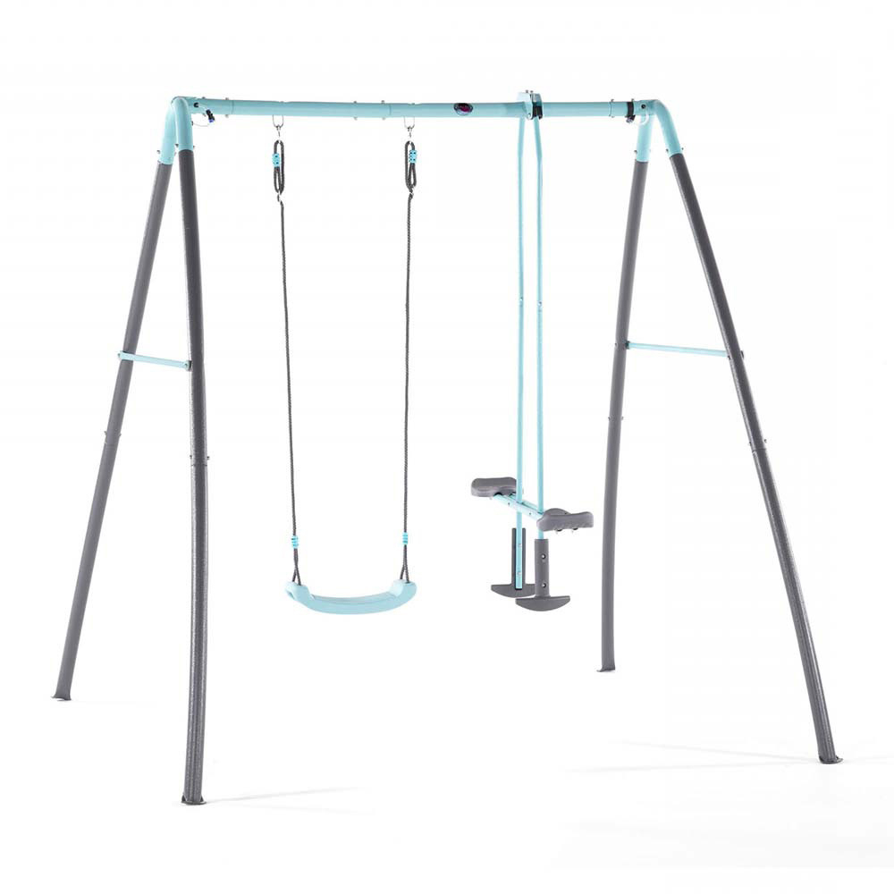 Trendy Dual Rider Glider Swings With Soft Touch Rope Throughout Plum – Metal Single Swing & Glider W/ Mist Feature (View 22 of 25)
