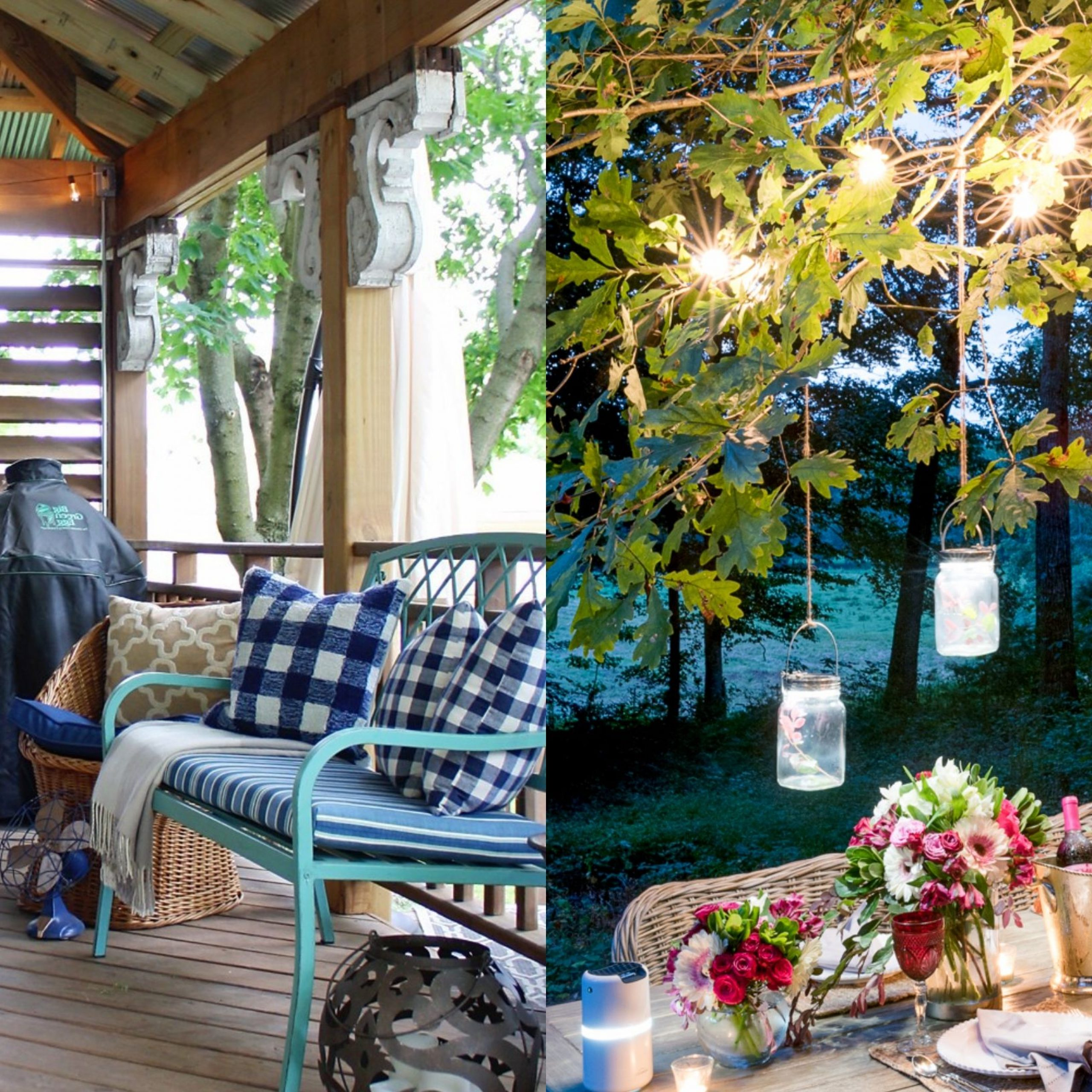Trendy Lamp Outdoor Porch Swings With Regard To 25 Backyard Lighting Ideas – How To Hang Outdoor String Lights (View 12 of 25)
