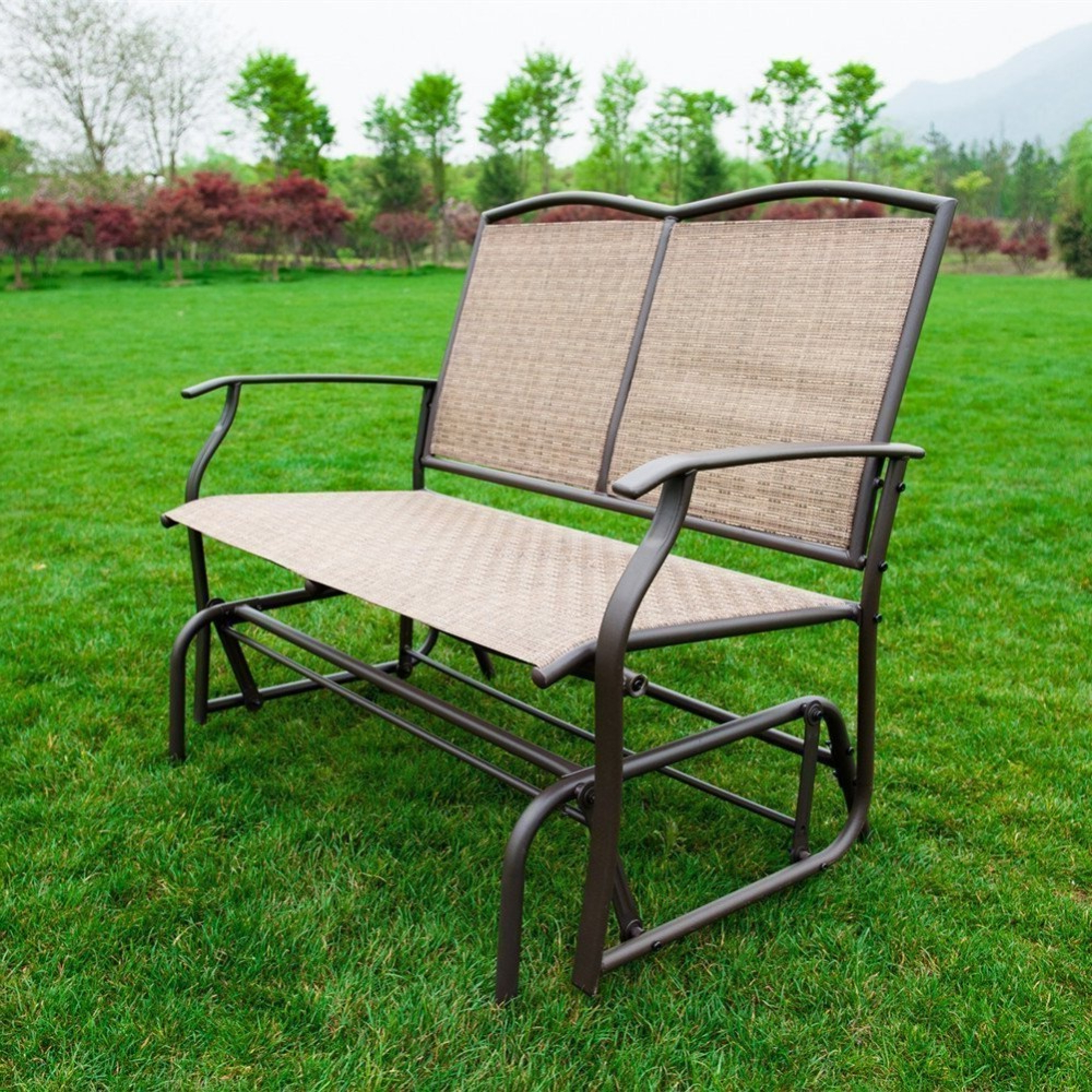 Featured Photo of Outdoor Patio Swing Glider Bench Chair S