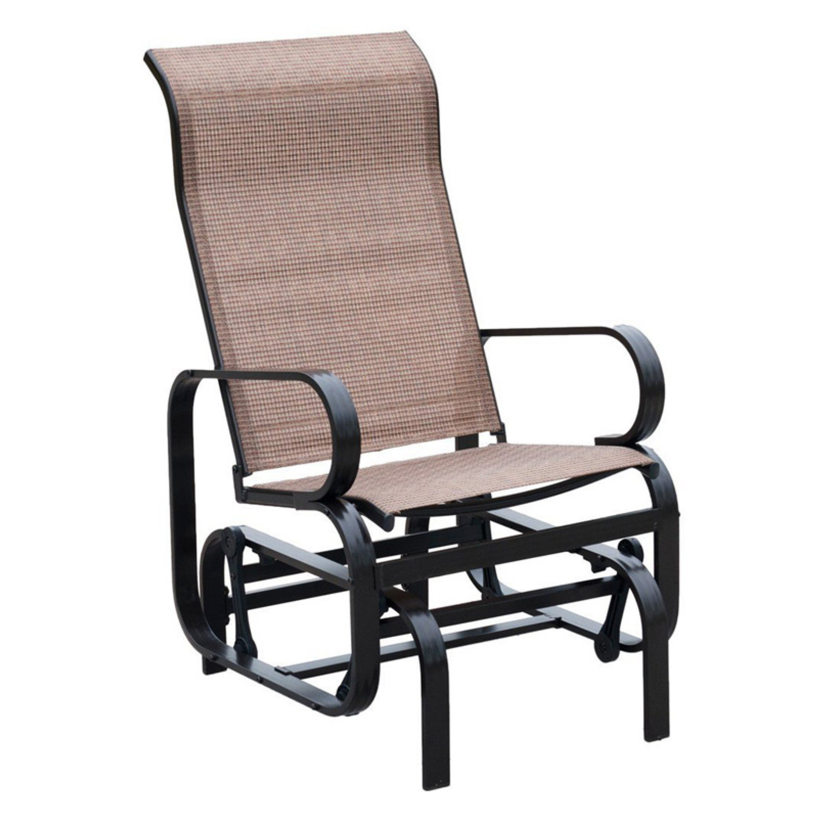 Trendy Outdoor Patio Swing Glider Bench Chair S With Chair Double Bates Crosley Swing Sofa Home Swivel Rocker (View 21 of 25)