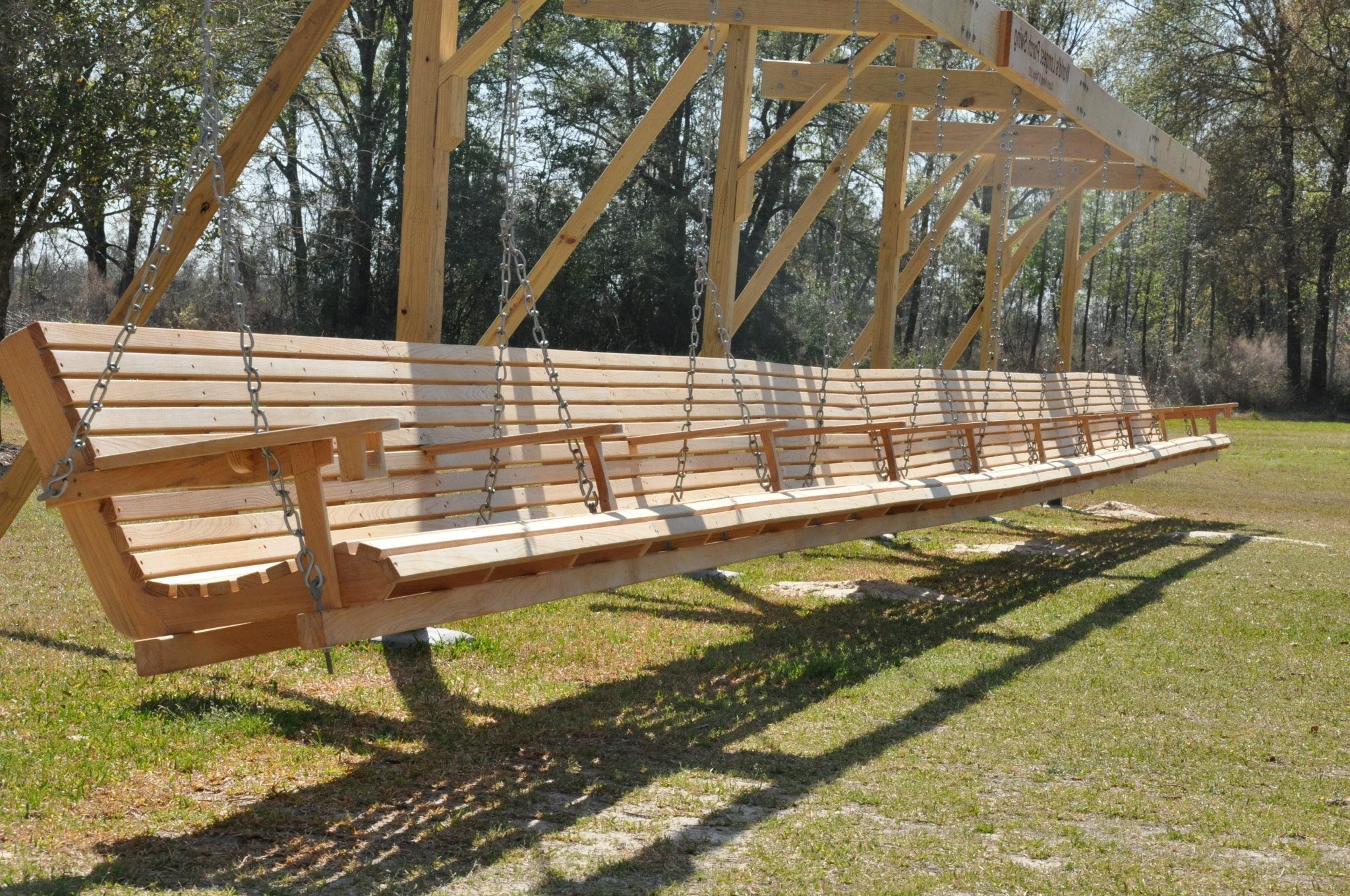 Trendy Porch Swings With Stand Throughout Wooden Porch Swing Stand Plans (View 25 of 25)