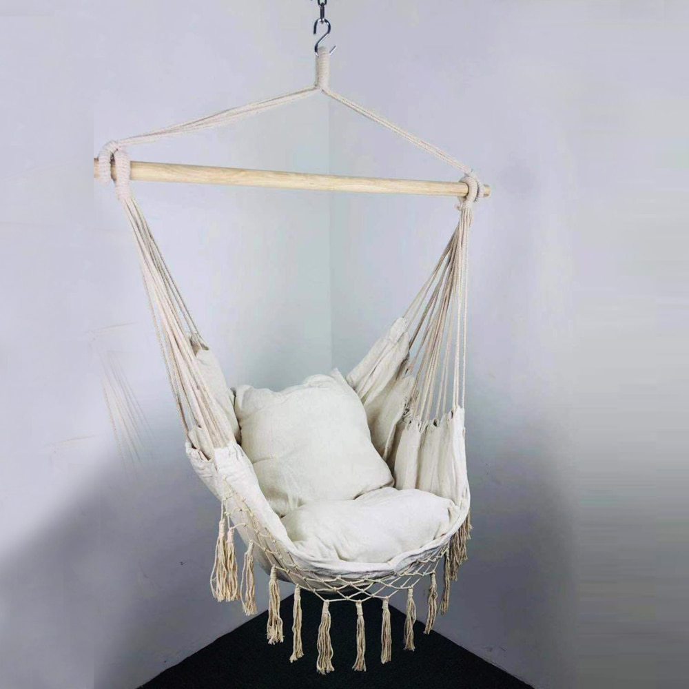 [%us $54.16 13% Off|hanging Rope Hammock Chair Porch Swing Seat, Large Hammock Net Chair Swing Cotton Rope Porch Chair For Indoor Garden Patio Porch In Pertaining To Most Recent Cotton Porch Swings|cotton Porch Swings For Latest Us $54.16 13% Off|hanging Rope Hammock Chair Porch Swing Seat, Large Hammock Net Chair Swing Cotton Rope Porch Chair For Indoor Garden Patio Porch In|most Current Cotton Porch Swings Inside Us $54.16 13% Off|hanging Rope Hammock Chair Porch Swing Seat, Large Hammock Net Chair Swing Cotton Rope Porch Chair For Indoor Garden Patio Porch In|most Popular Us $ (View 10 of 25)