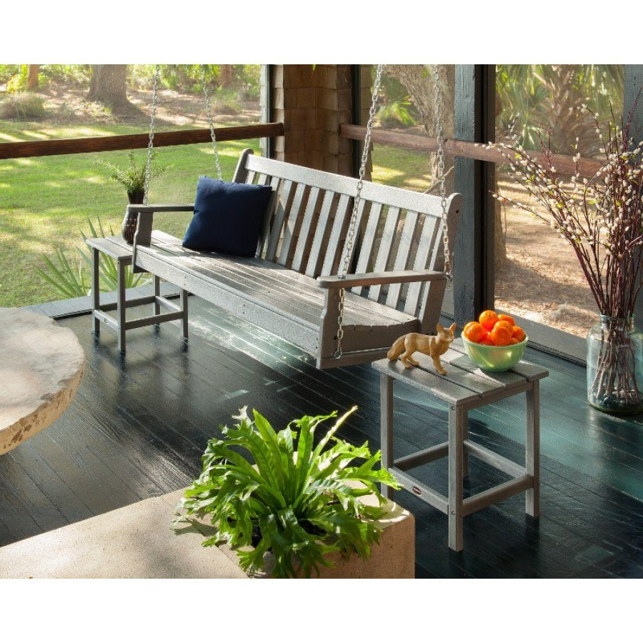 Vineyard Porch Swings Pertaining To Most Current Polywood® Vineyard 60 Porch Swing (Gallery 23 of 25)