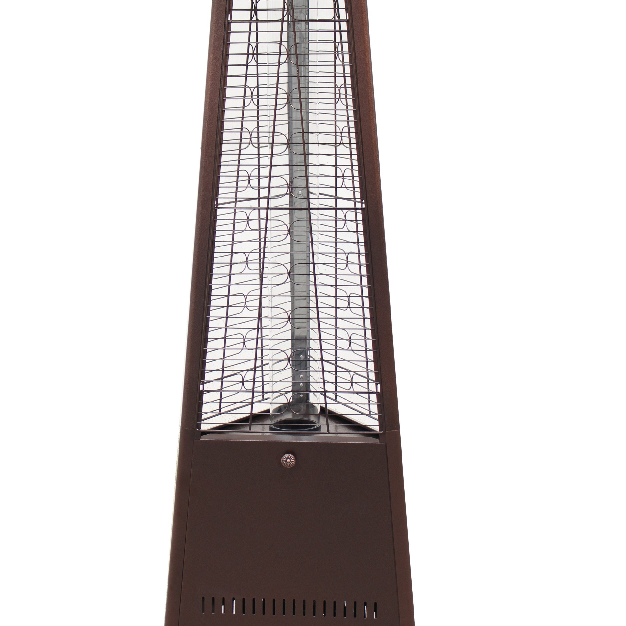 Well Known 2 Person Hammered Bronze Iron Outdoor Swings With Regard To Details About 42,000 Btu Outdoor Patio Heater – Hammered Bronze (Gallery 17 of 25)