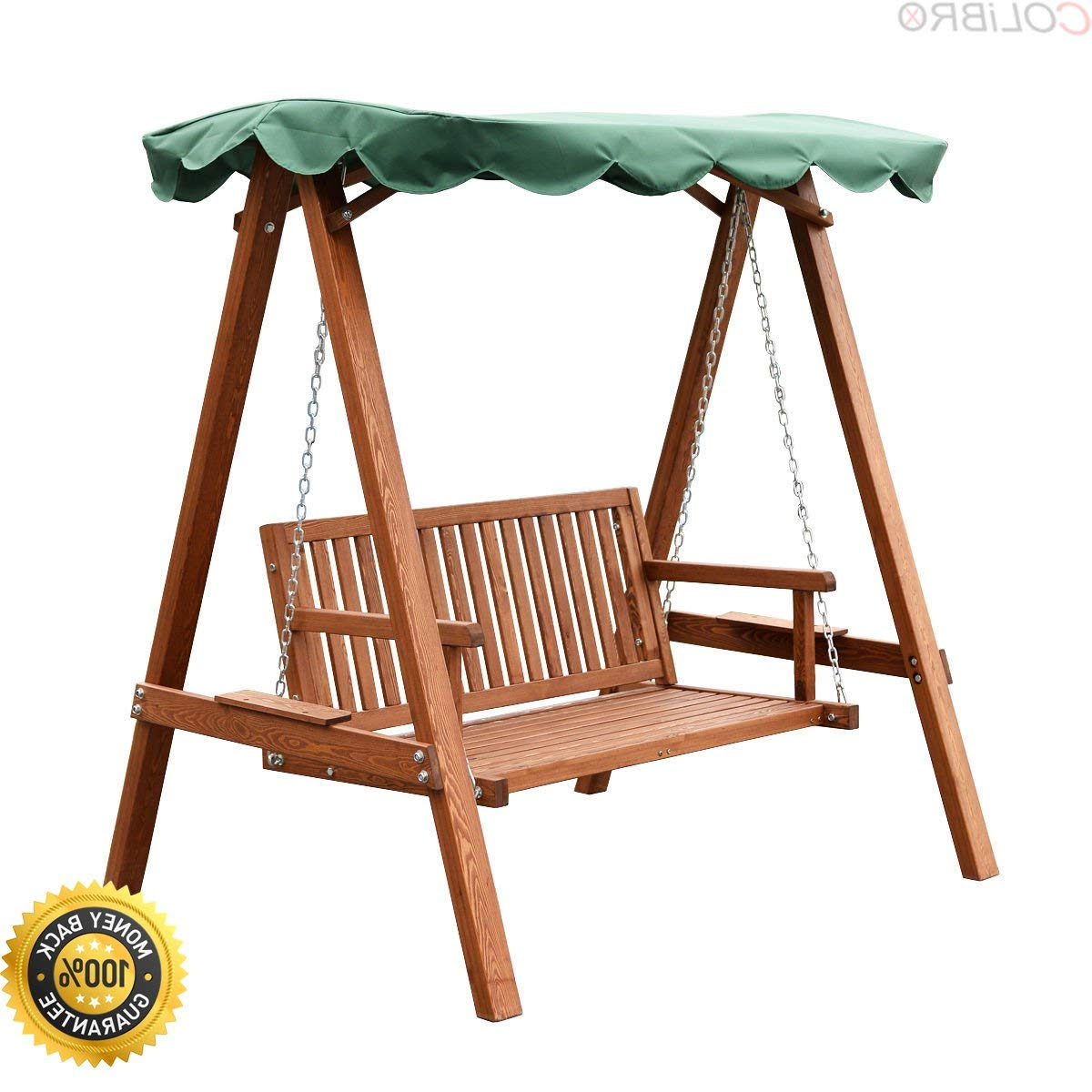 Well Liked 3 Person Light Teak Oil Wood Outdoor Swings Pertaining To Cheap Wooden Garden Swing Seats Outdoor Furniture, Find (Gallery 2 of 25)