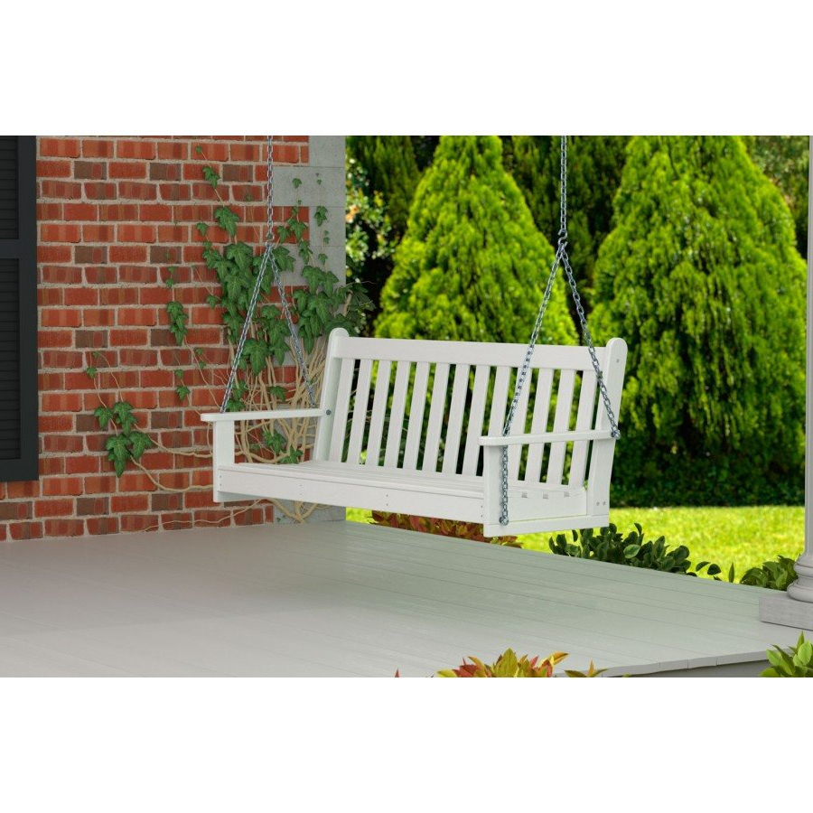 Well Liked Vineyard Porch Swings Pertaining To Polywood® Vineyard 60 Porch Swing (View 7 of 25)