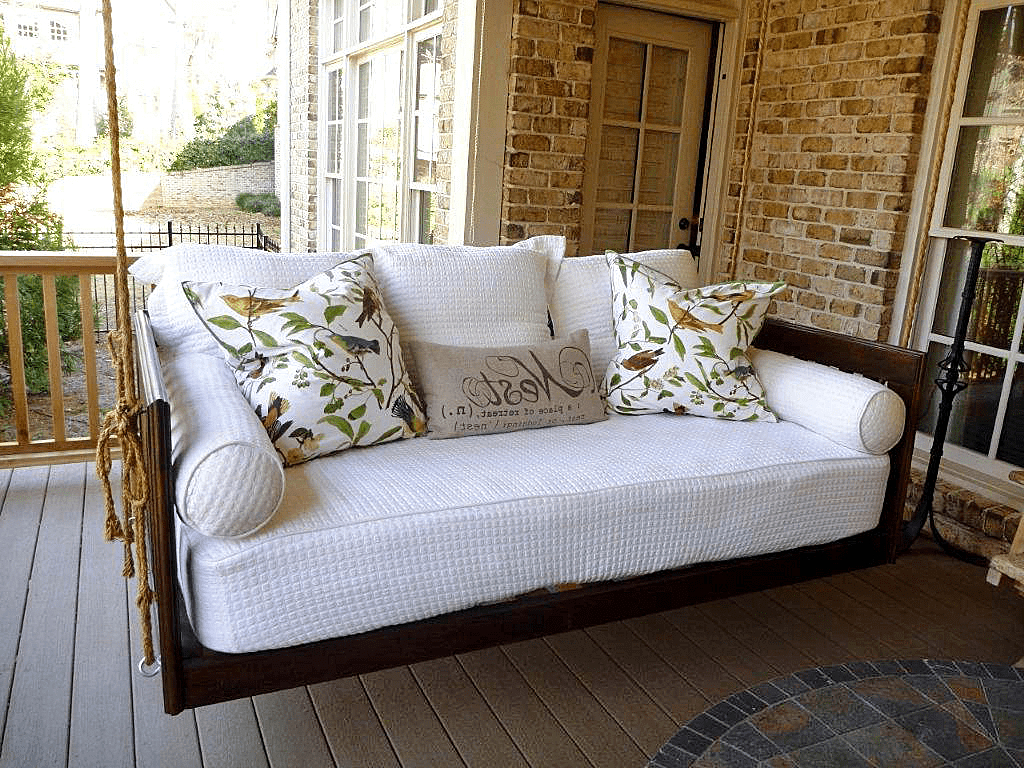 What Types Of Porch Swings Is Right For You? With Most Current Day Bed Porch Swings (View 19 of 25)