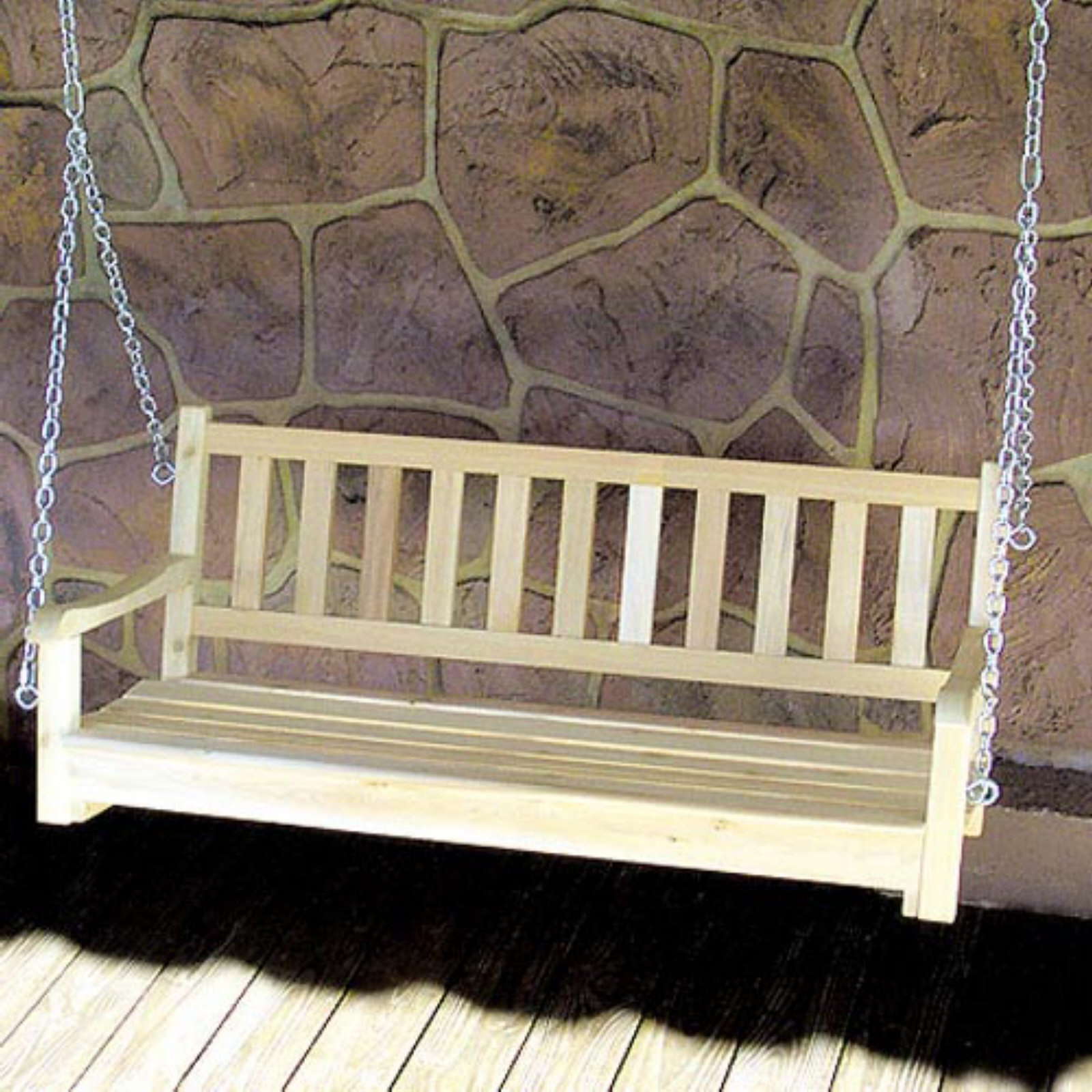 Widely Used Tidewater Workshop American Classic Porch Swing – Walmart Regarding Contoured Classic Porch Swings (View 25 of 25)