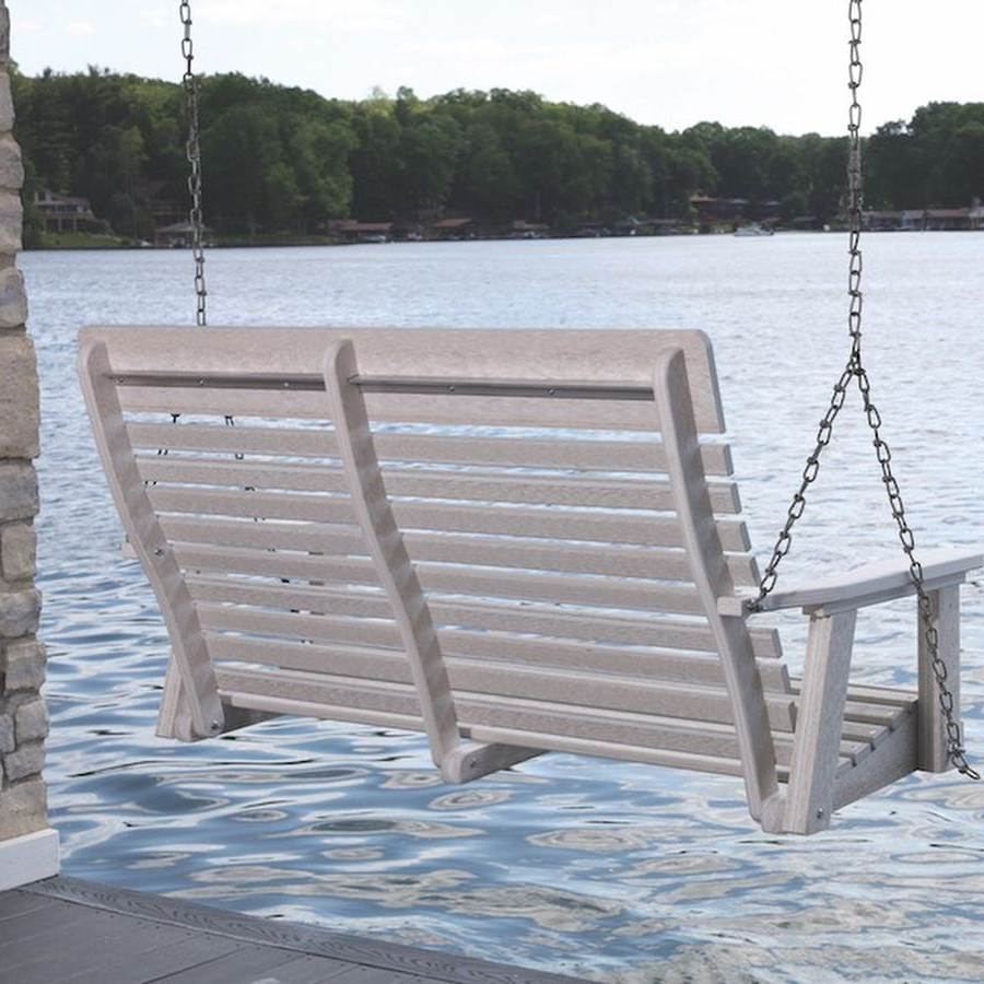 Wooden Porch Swing (Gallery 21 of 25)